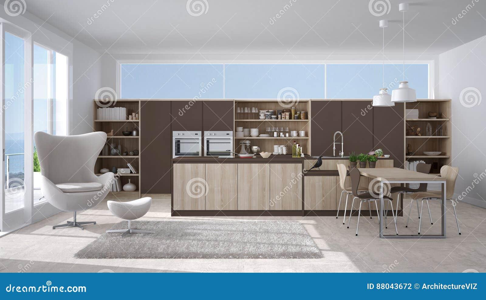 Awesome cucina bianca e marrone pictures - Cucina bianca e marrone ...