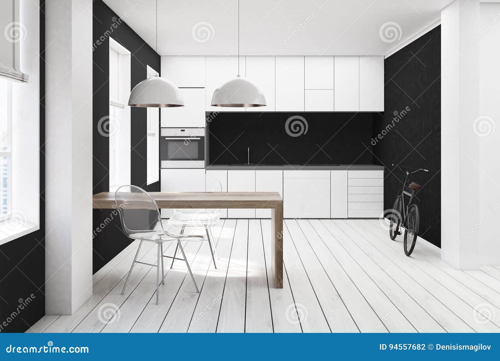Awesome Cucina Bianca E Nera Contemporary - Home Interior Ideas ...