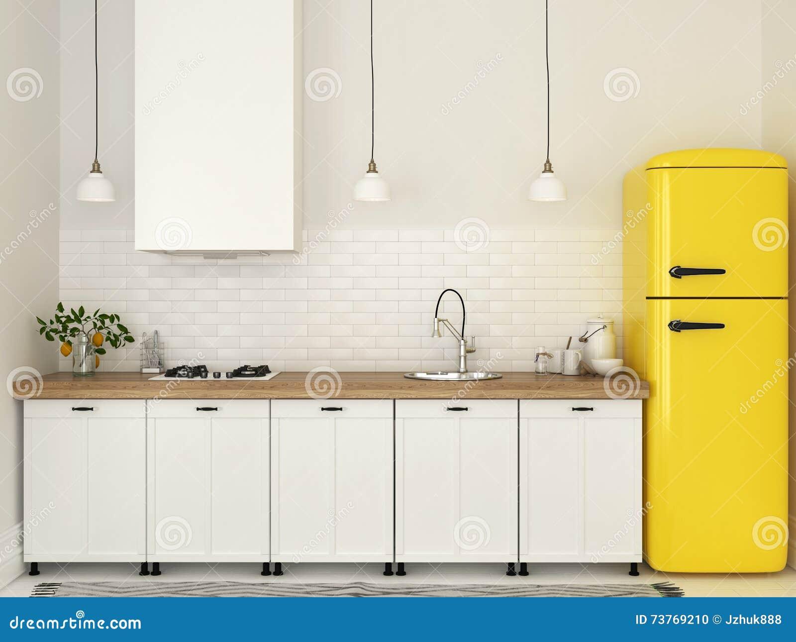 Colore Pareti Cucina Gialla : Pareti gialle camera da letto con n with