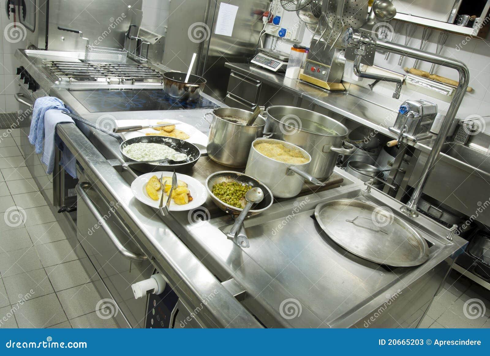 Cucina del ristorante
