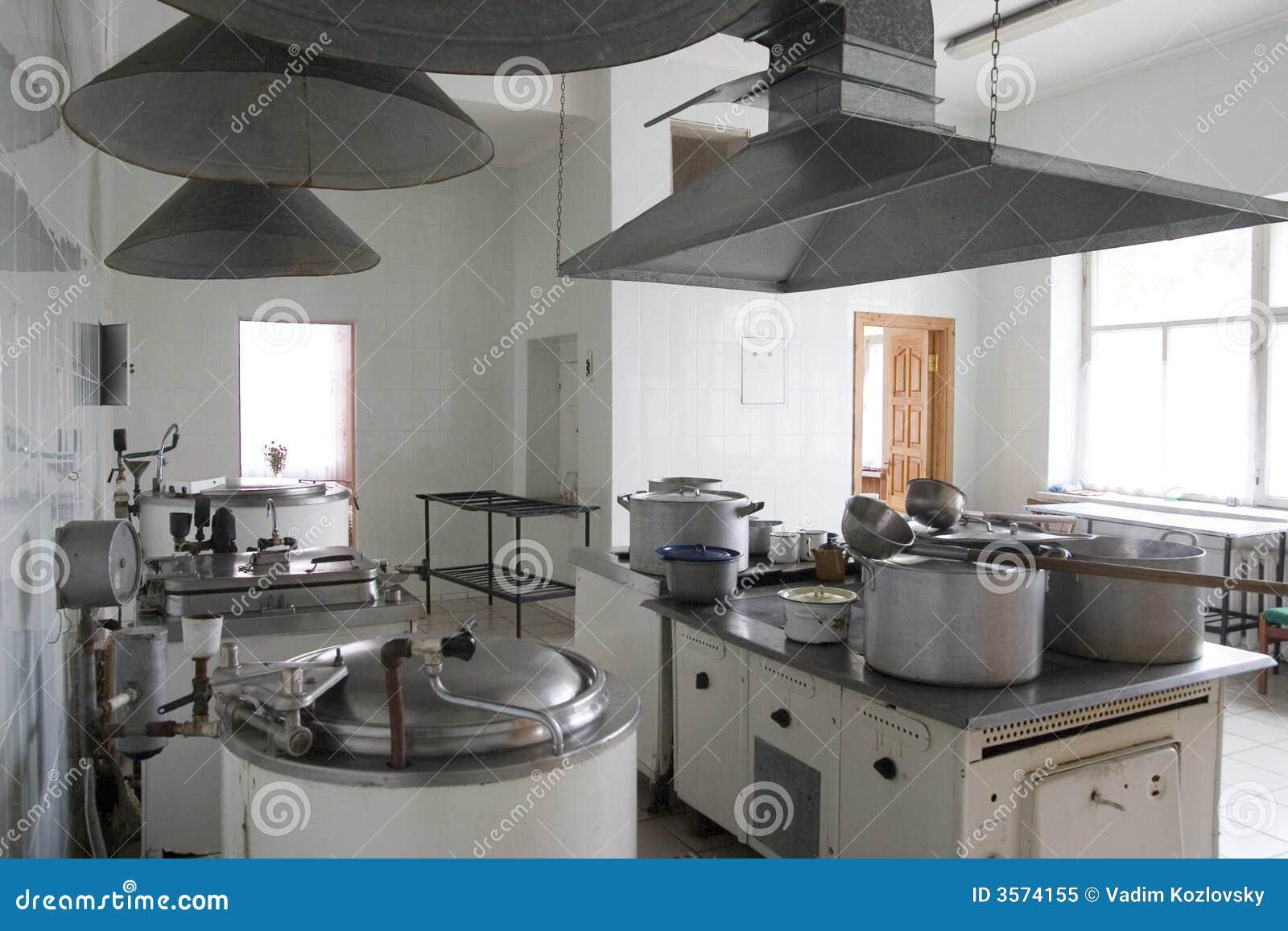 Cucina dell ospedale