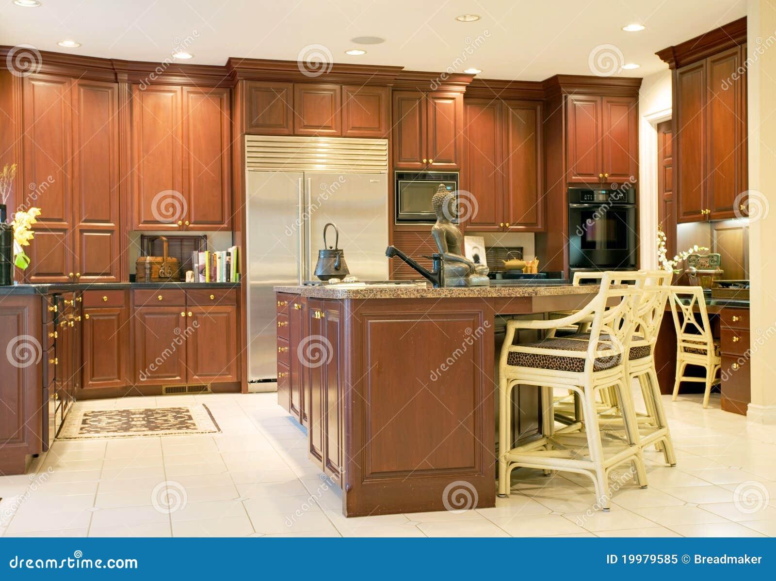 Cucina Di Lusso Fotografia Stock Libera da Diritti - Immagine: 19979585