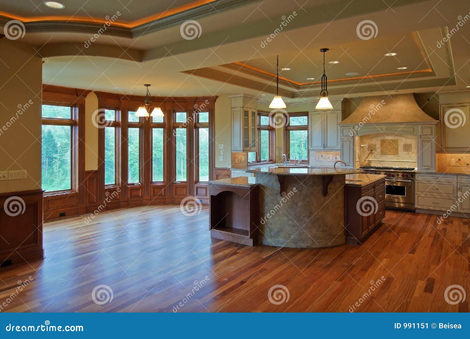 Cucina di lusso immagine stock immagine 991151 - Cucina di lusso ...