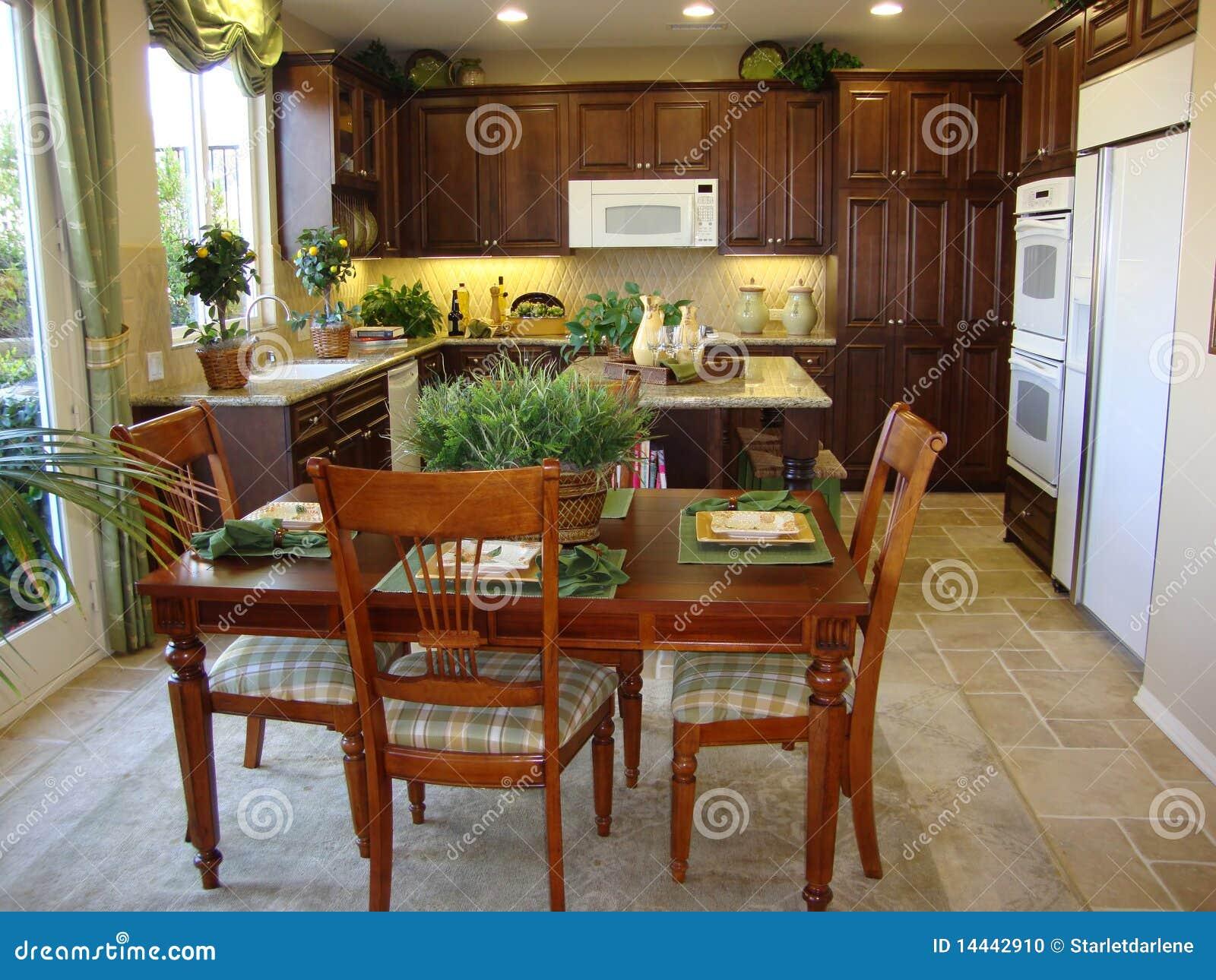 Cucina E Sala Da Pranzo Belle Fotografia Stock - Immagine ...