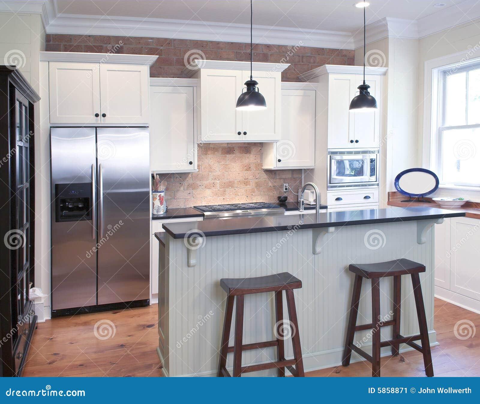 cucina elegante immagine stock immagine 5858871