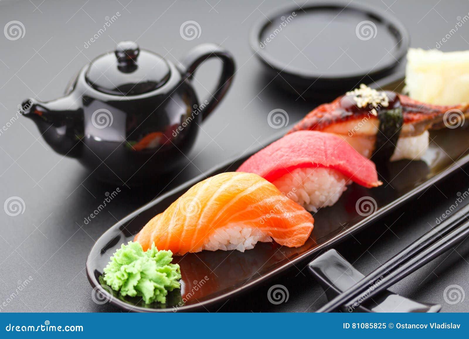 Cucina giapponese sushi fotografia stock immagine 81085825 for Cucine giapponesi