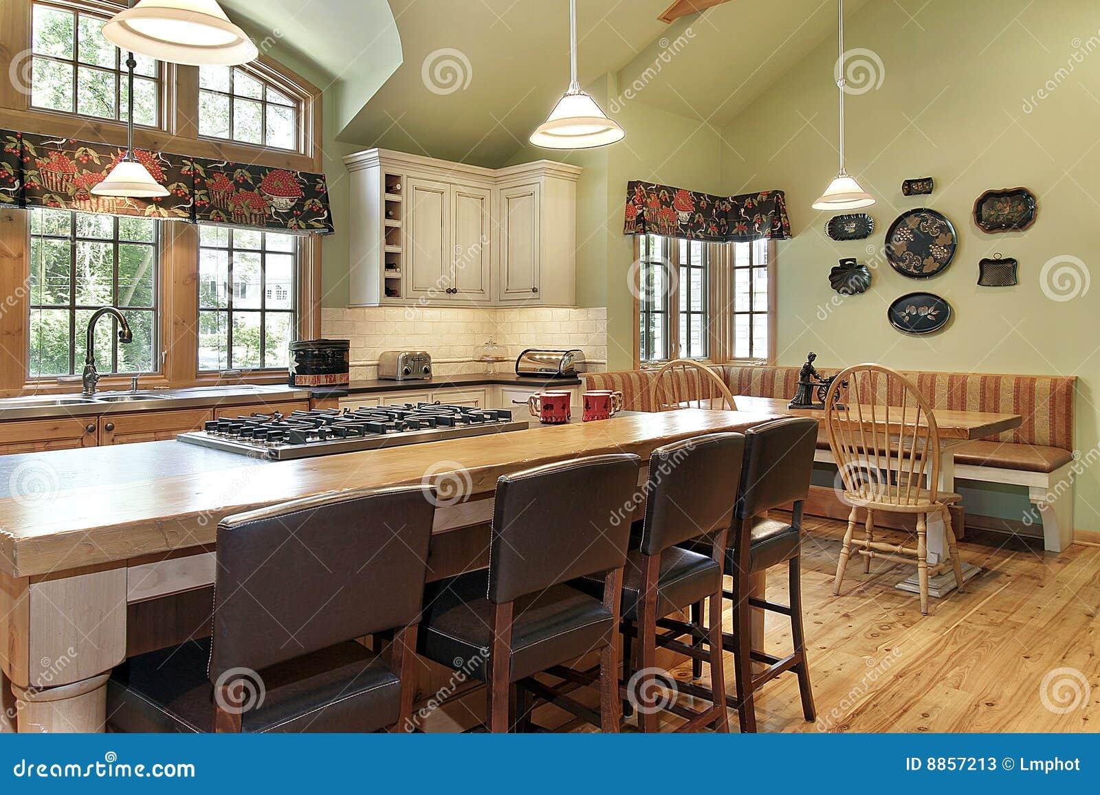 Cucina moderna immagine stock immagine di arredamento for Arredamento stock
