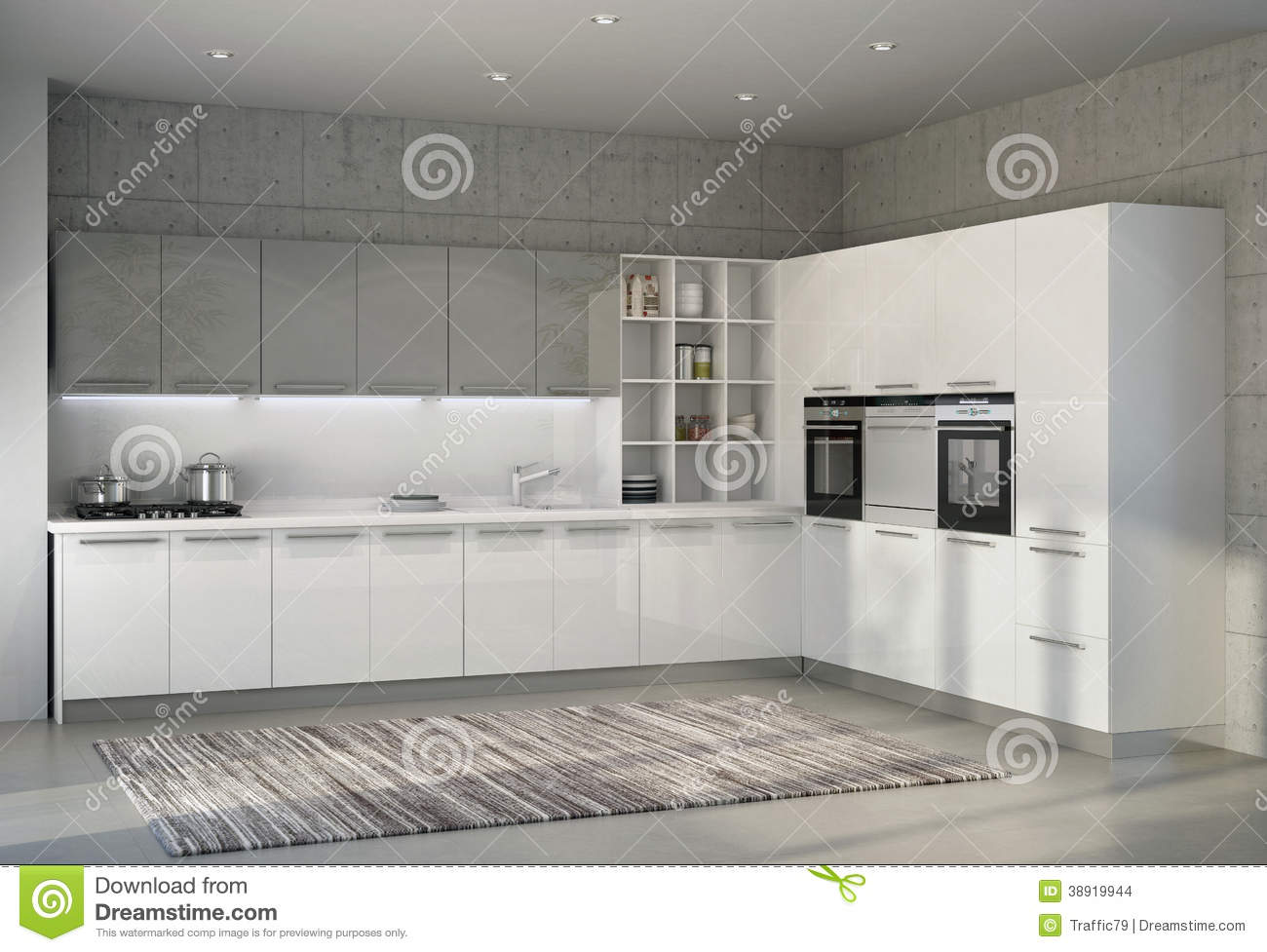 Cucina Moderna Bianca Lucida - Home Design E Interior Ideas ...