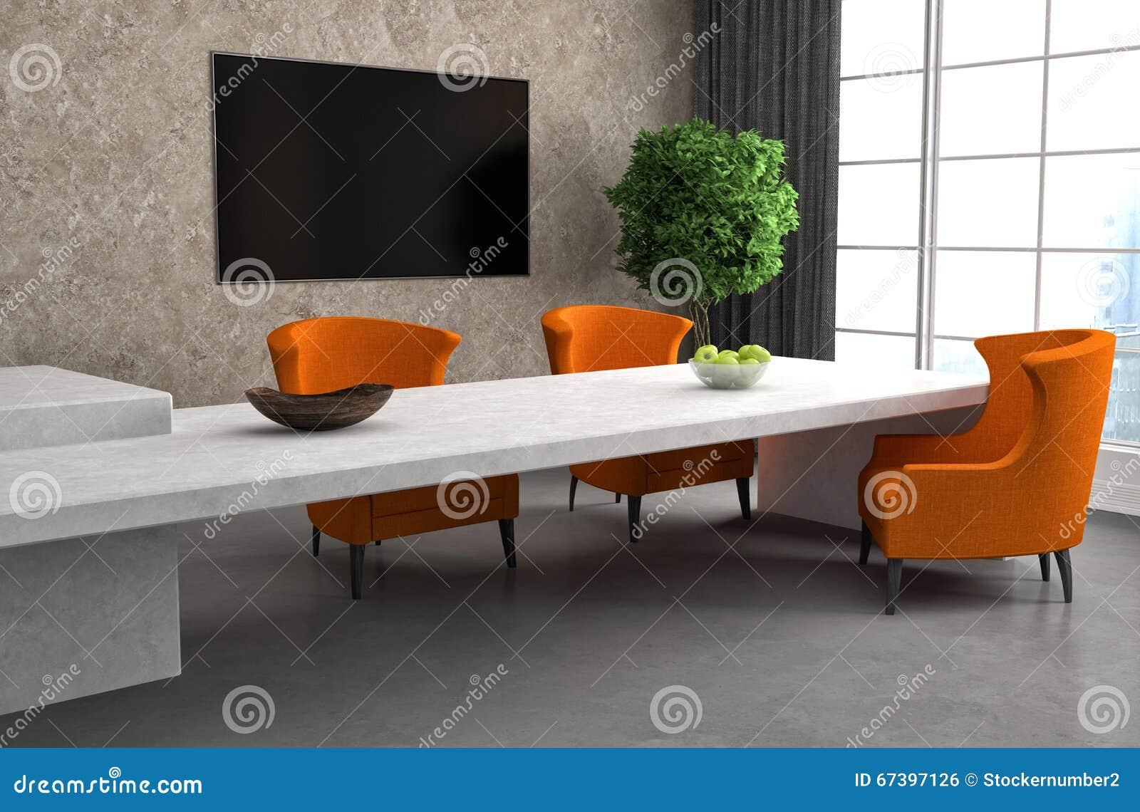 Pavimento Bianco Grigio : Cucina in pavimento bianco e grigio illustrazione d illustrazione