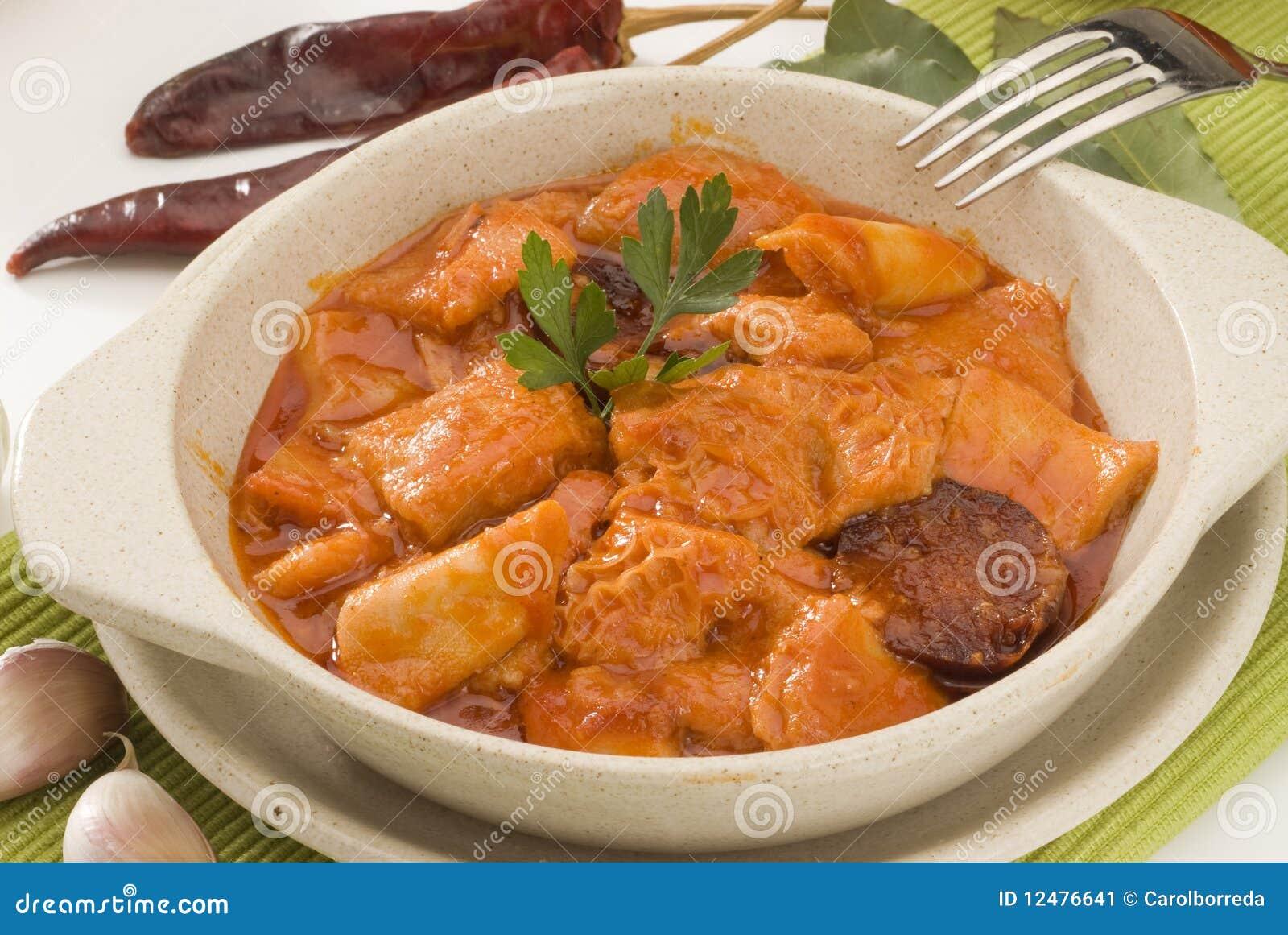 Cucina spagnola trippa stufata porcile di madrid for Cucina spagnola