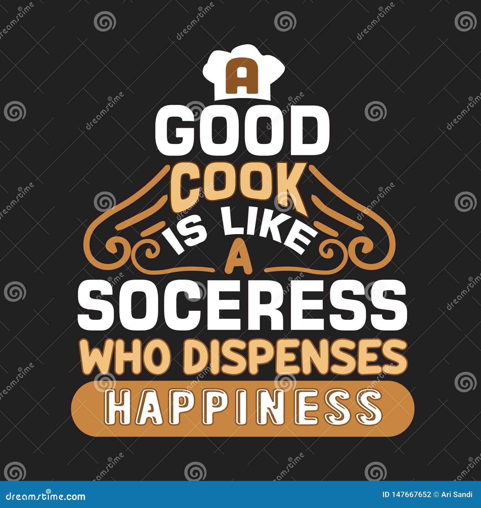 Cucinando citazione e dire buone per le collezioni di stampa
