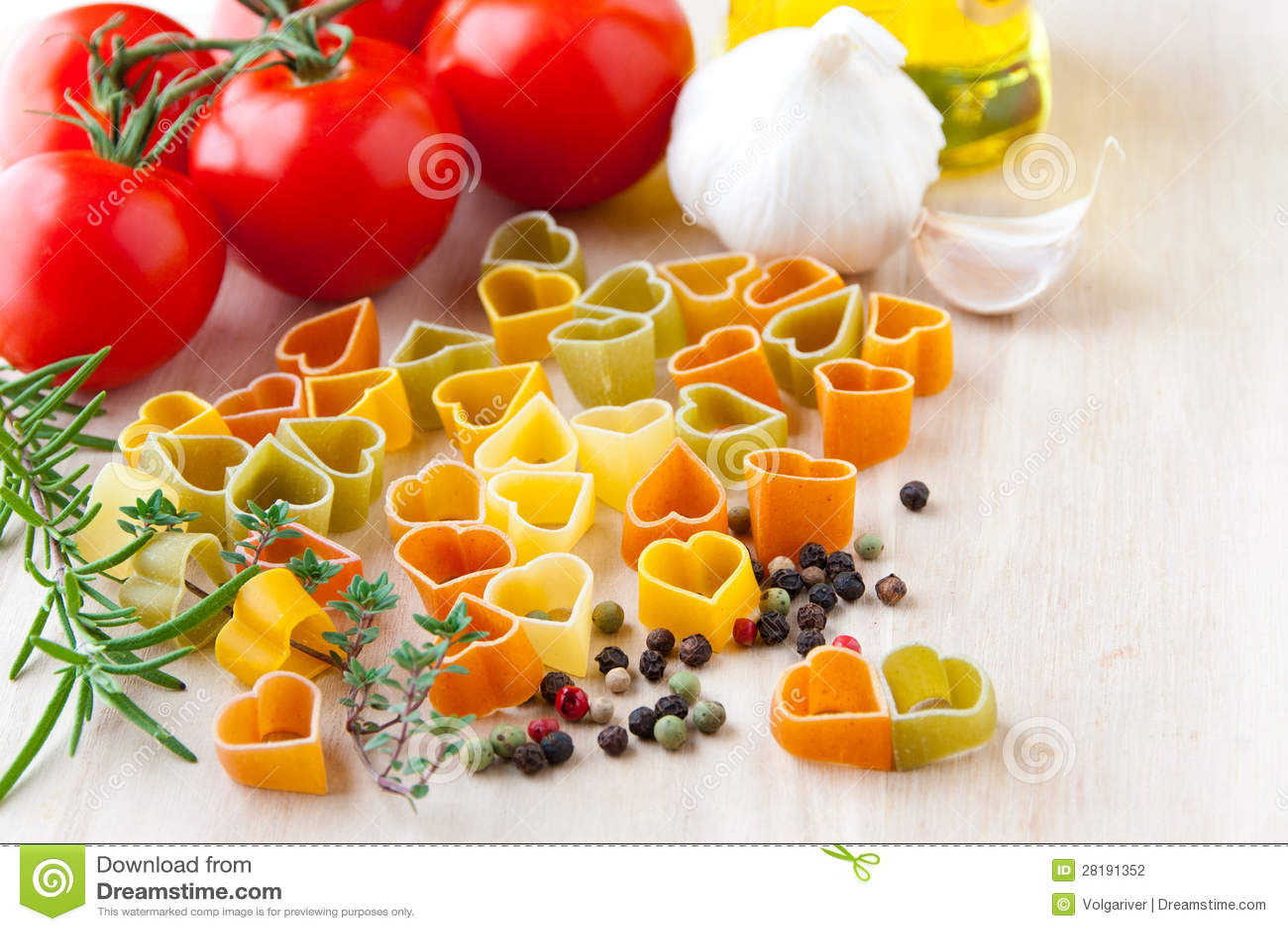 Cucinando Con L'amore. Ingredienti Per Cucina Italiana: Forma Del  #BE180D 1300 957 Immagini Di Cucina E Soggiorno Insieme