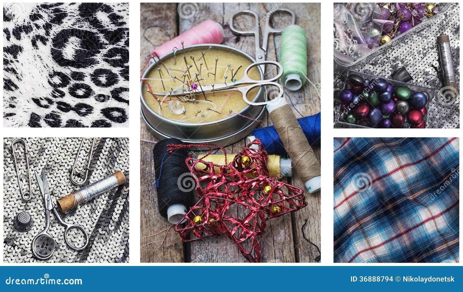 Download Cucito fotografia stock. Immagine di misura, industria - 36888794