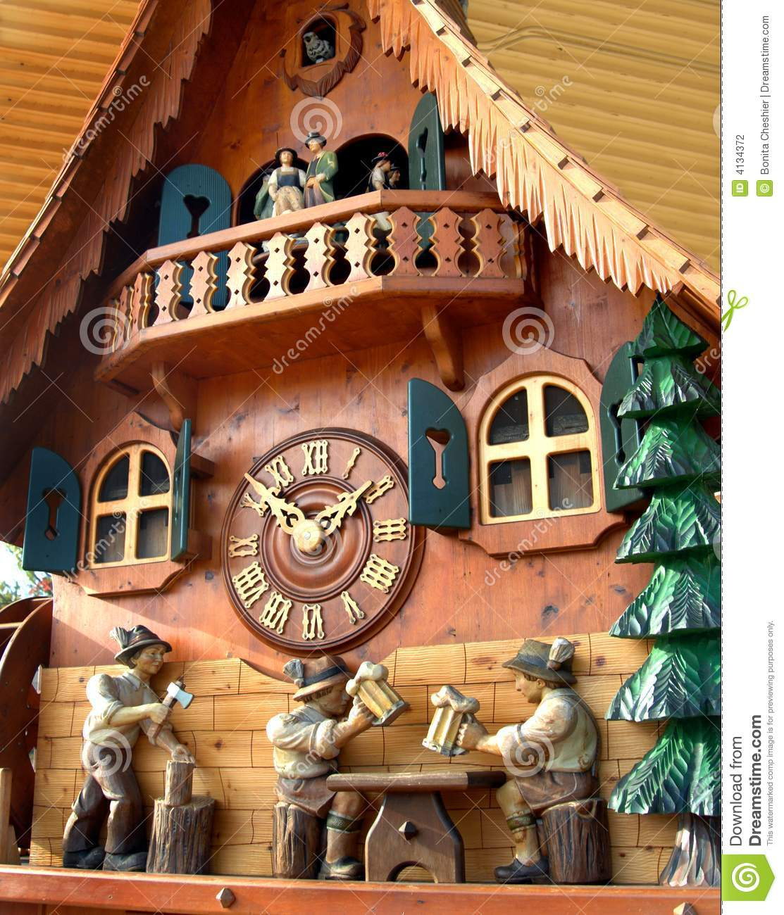 Cuckoo Clock from Black Forest