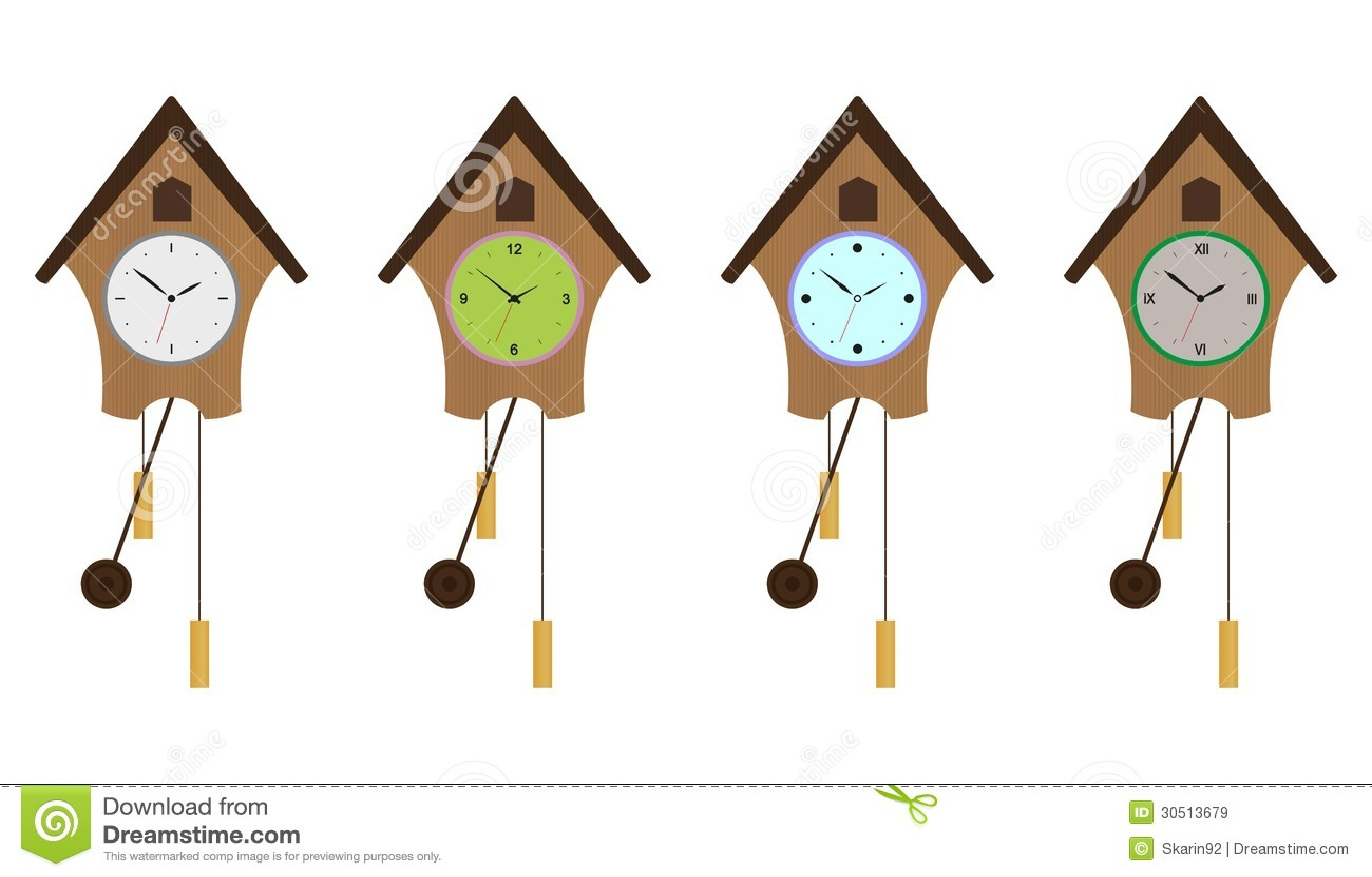cuckoo clock clip art free - photo #36