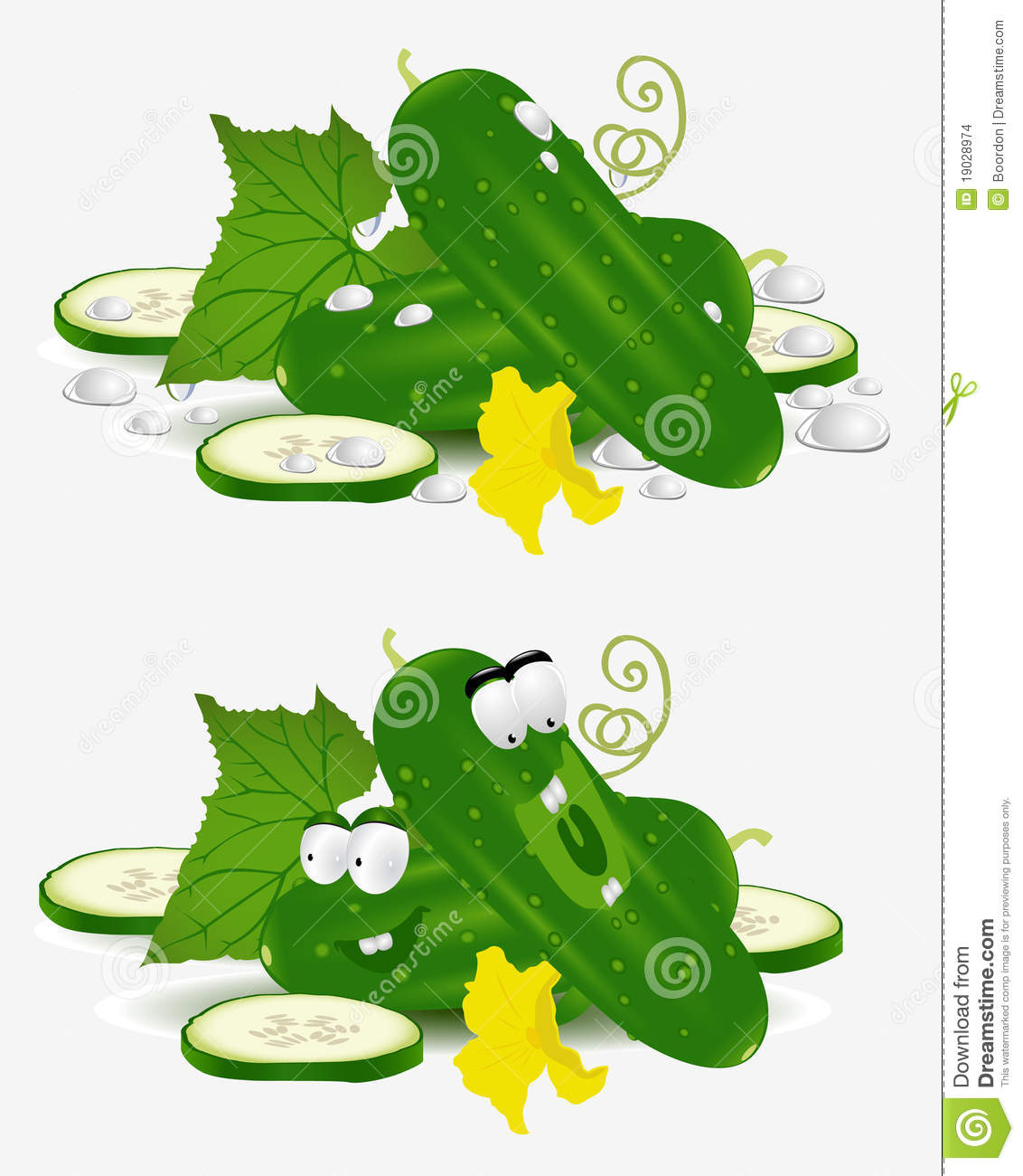 Cucumber Vegetable Character Stock Images - Image: 19028974: dreamstime.com/stock-images-cucumber-vegetable-character-image19028974