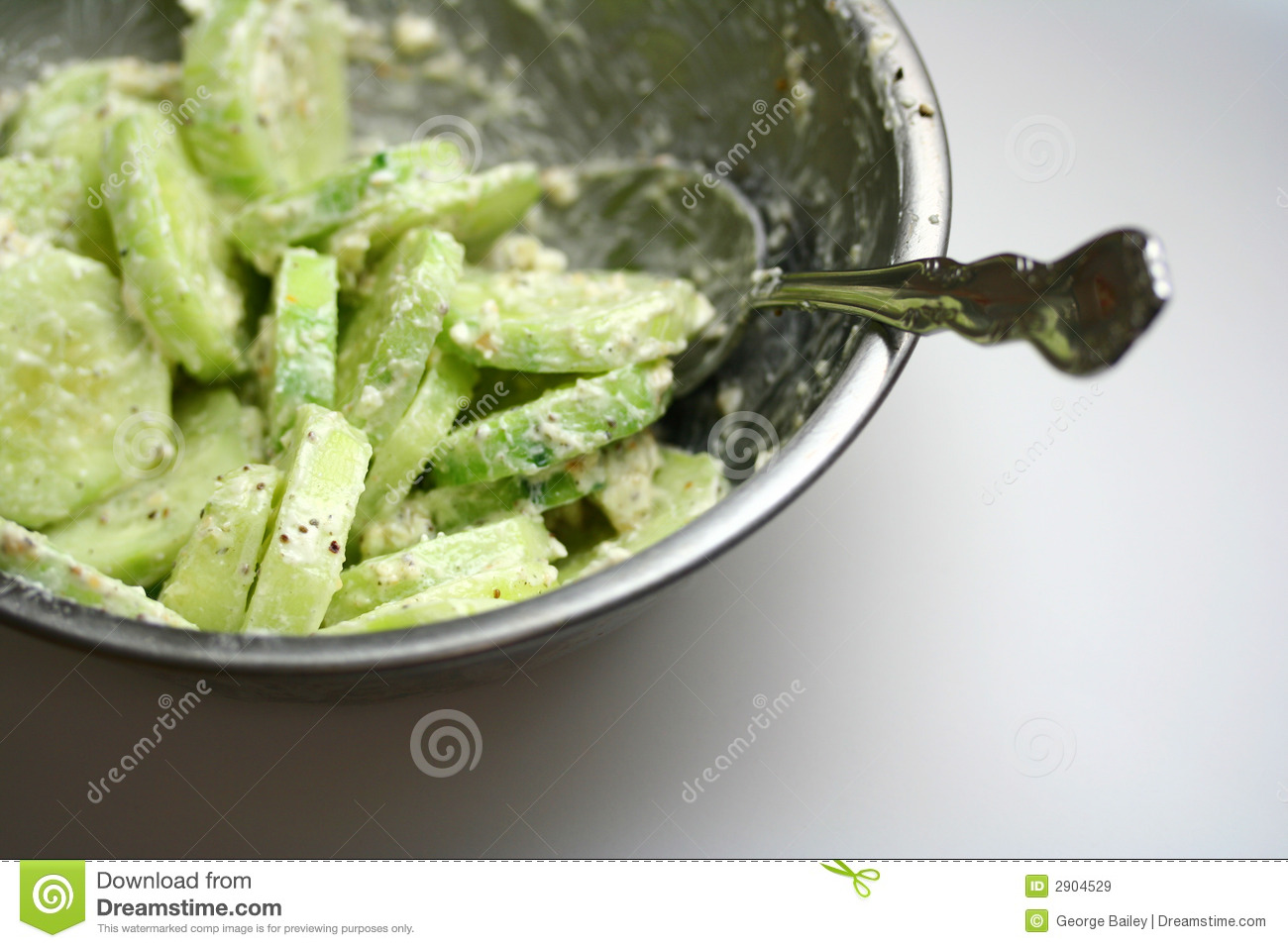 Cucumbers And Sour Cream Royalty Free Stock Images - Image: 2904529