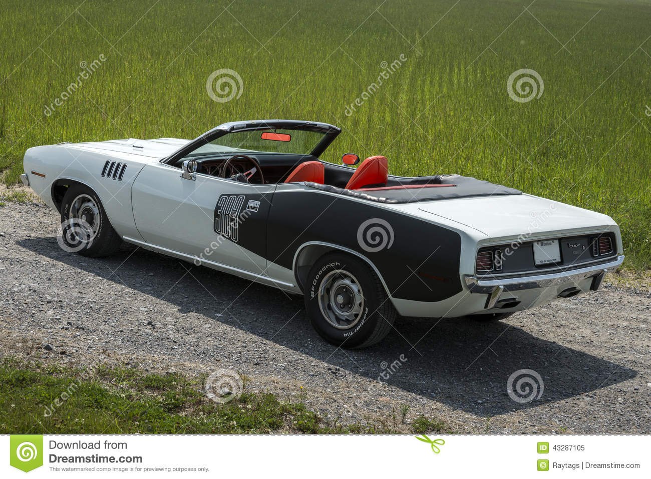 classic muscle car editorial image. image of image, engine - 43287105