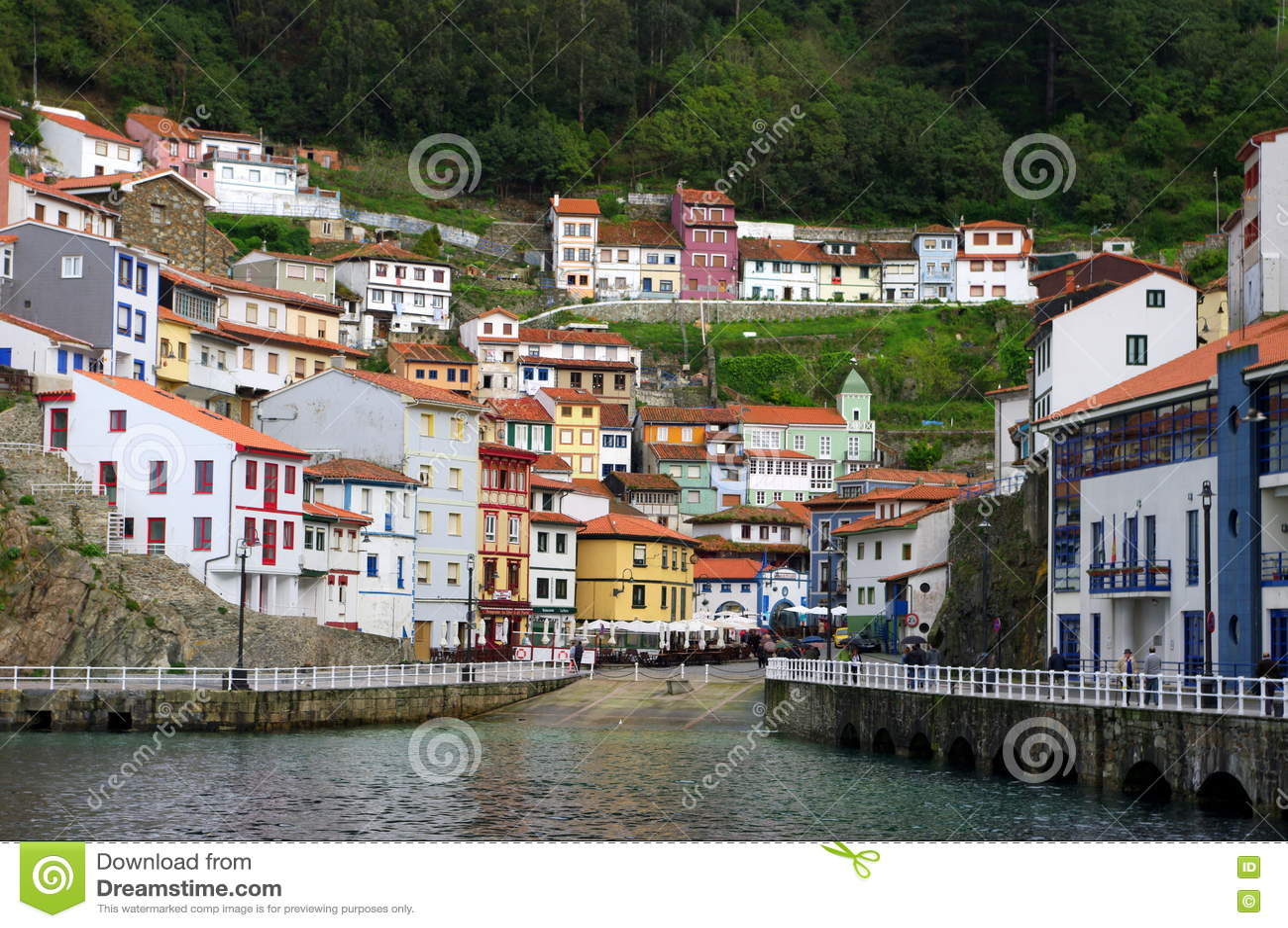 Cudillero, Asturias, Spanien