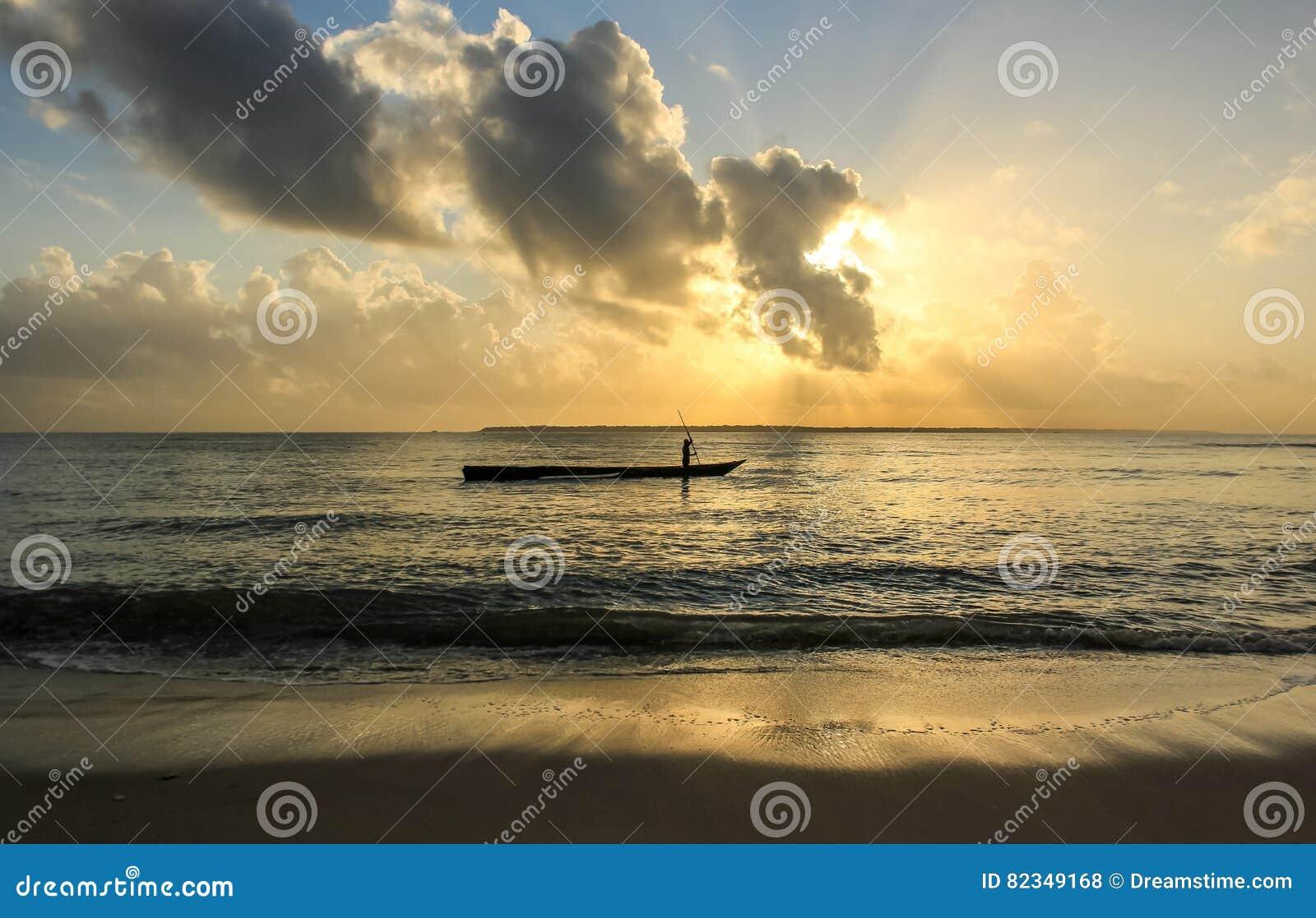 Cudowny wschód słońca