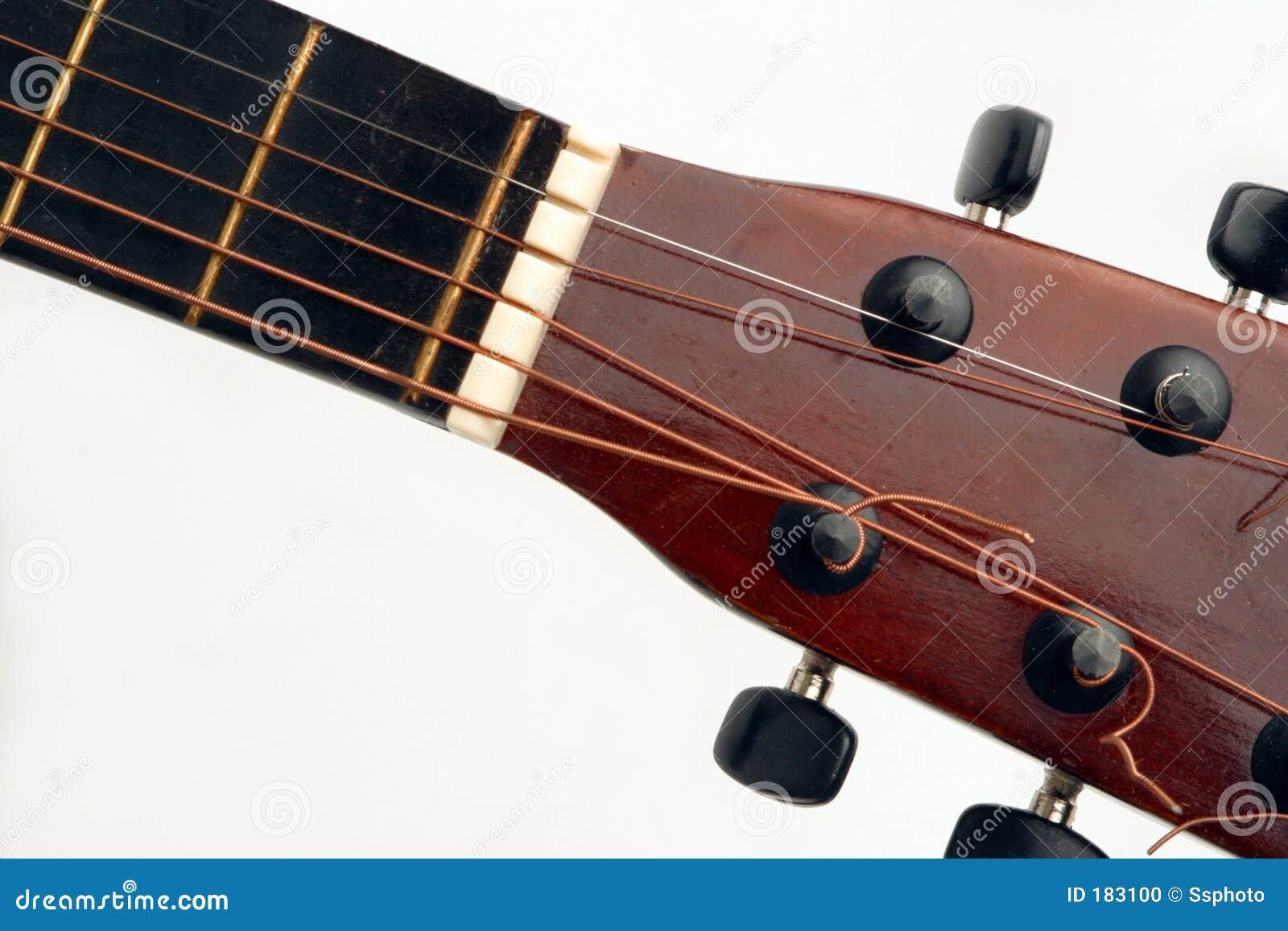 Cuello de la guitarra