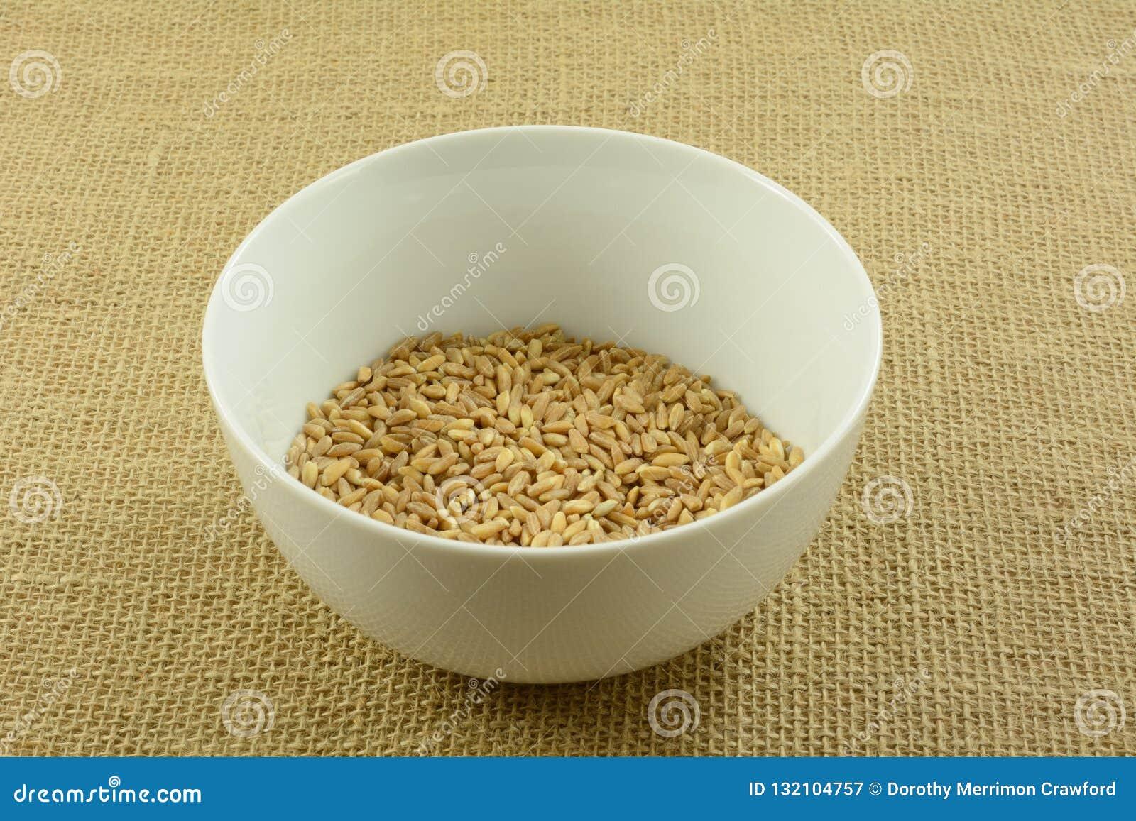 trigo en crudo