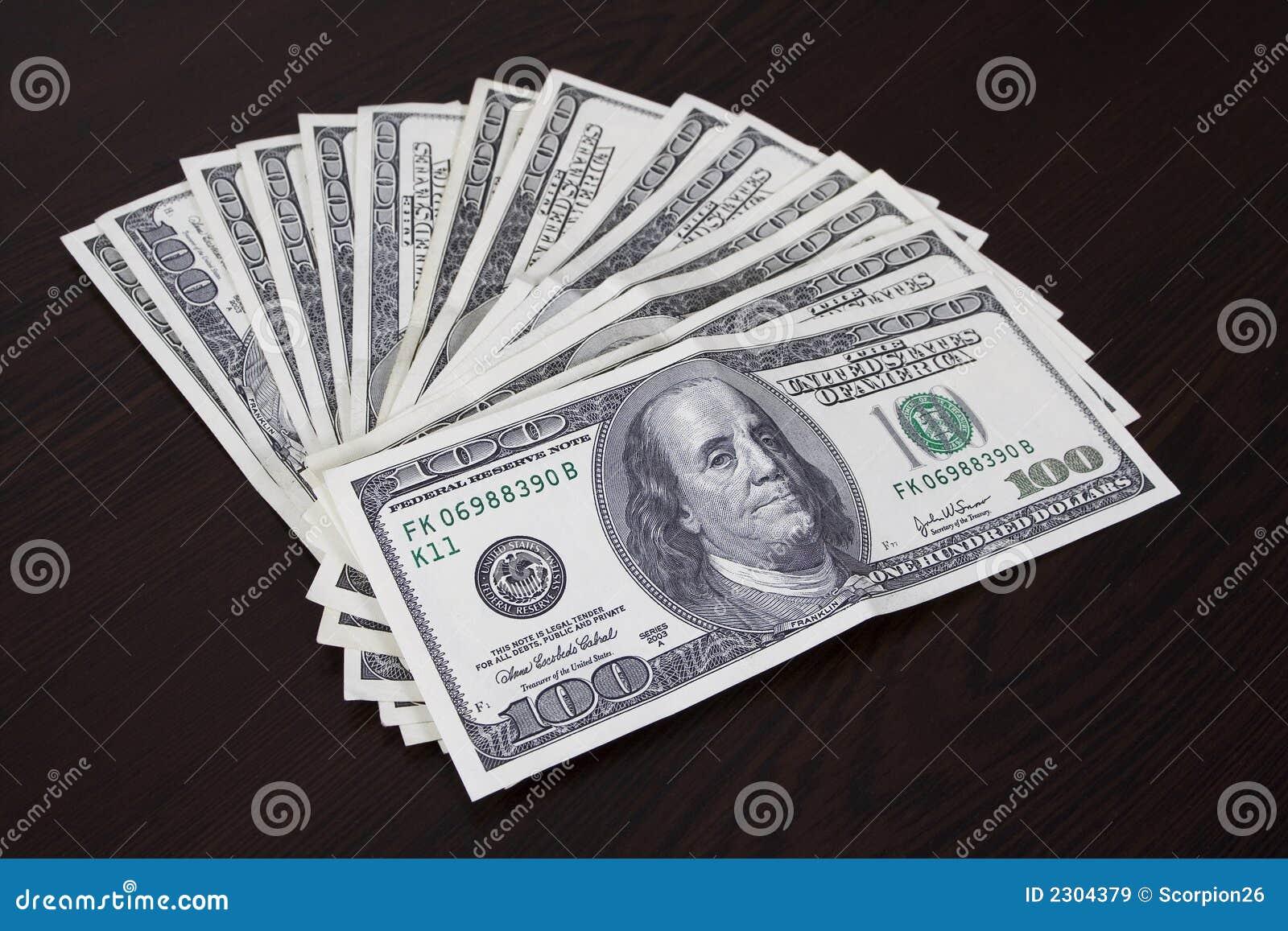 Cuentas de dólar