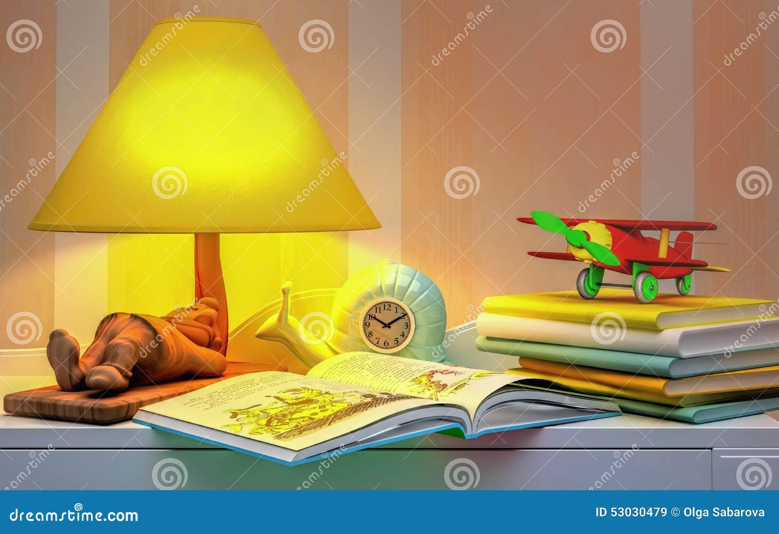 Cuento De Hadas Para La Noche Stock De Ilustraci N Imagen 53030479 # Muebles Cuento De Hadas