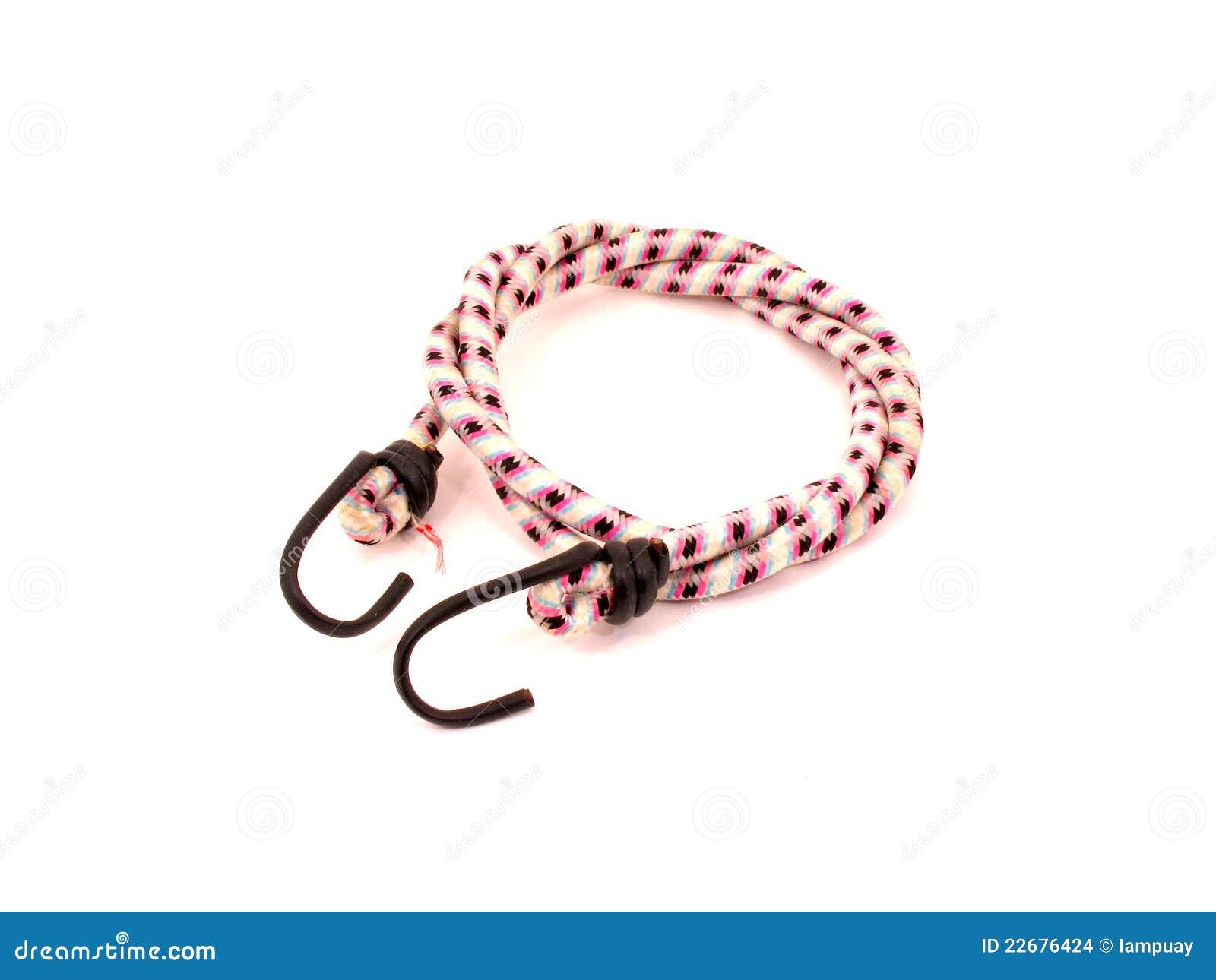Cuerda de amortiguador auxiliar con los ganchos de leva
