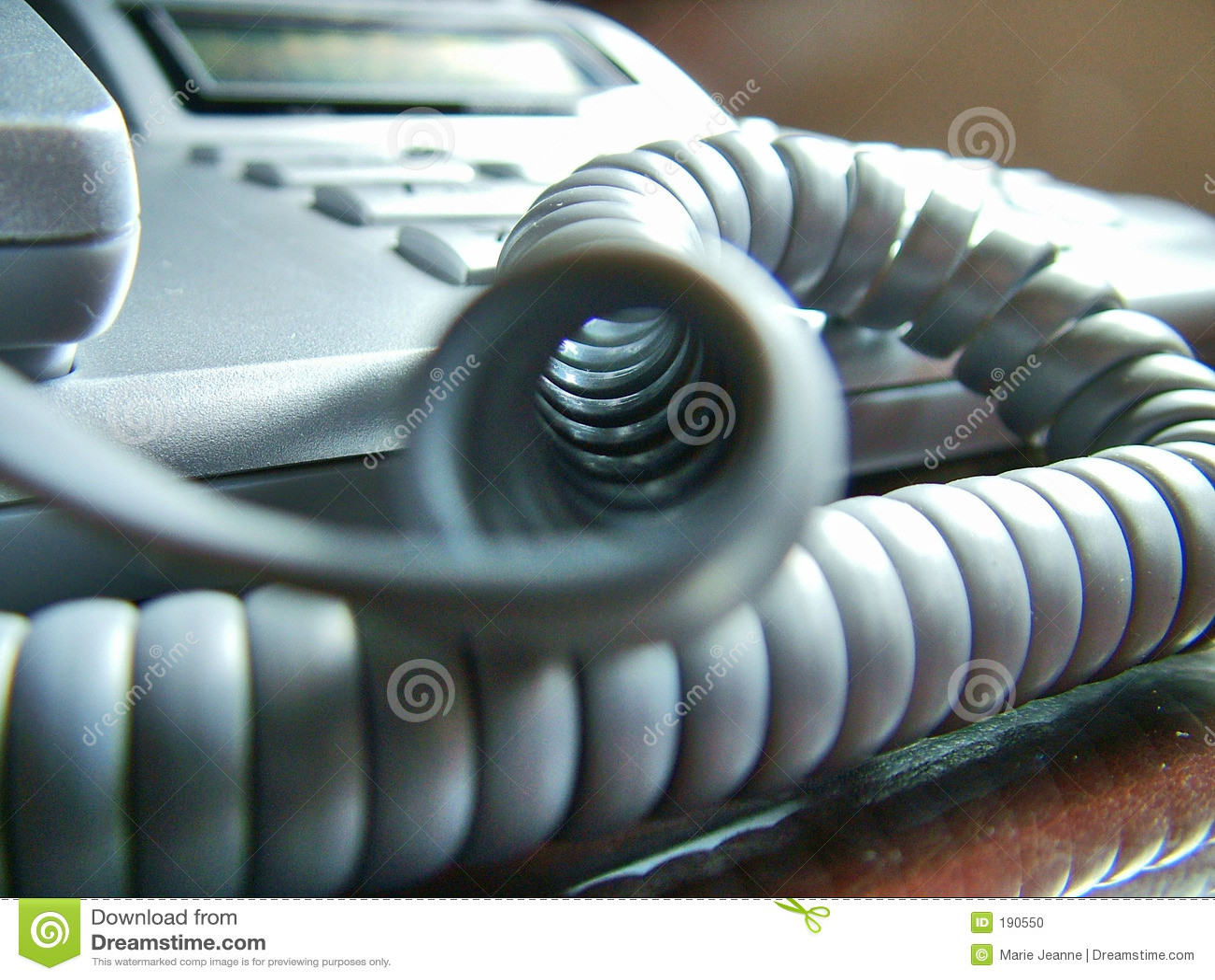 Cuerda de teléfono