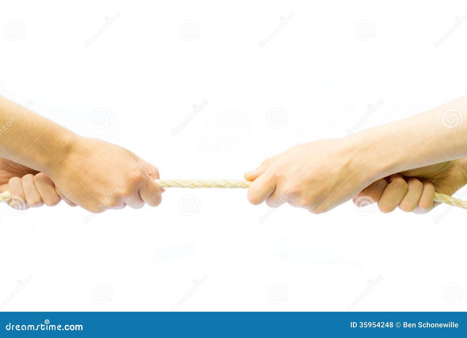 Cuerda de tracción de cuatro brazos