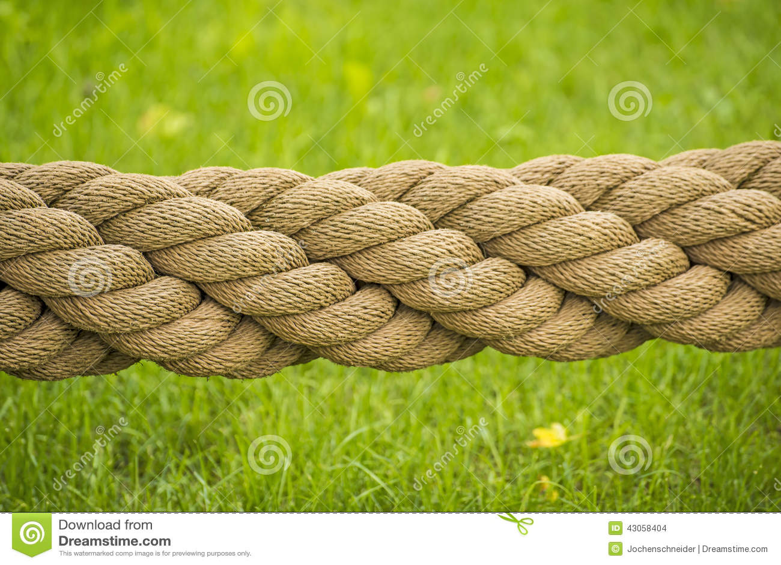 cuerda gruesa foto de archivo imagen de horizontal
