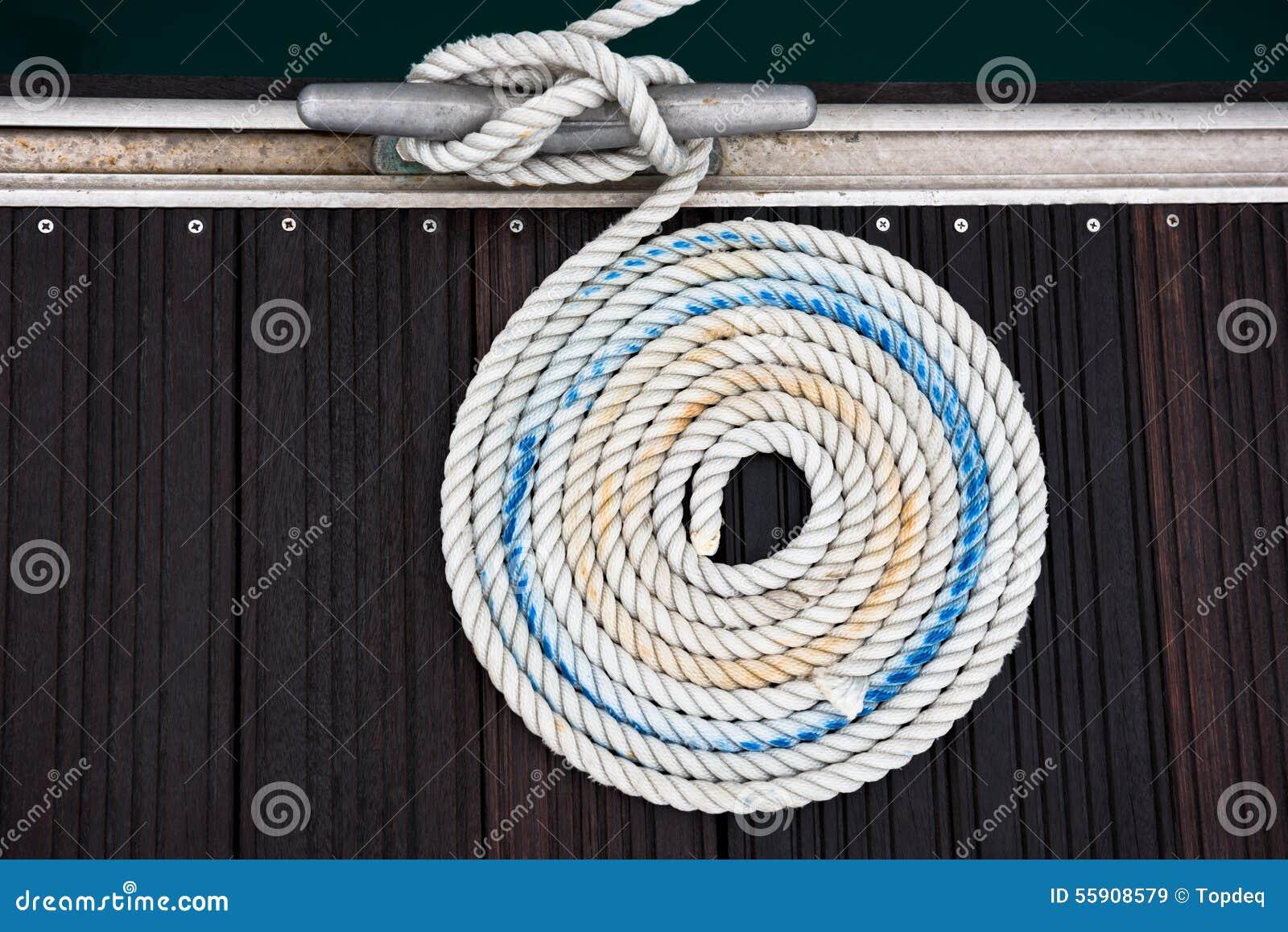 Cuerda náutica de la amarradura
