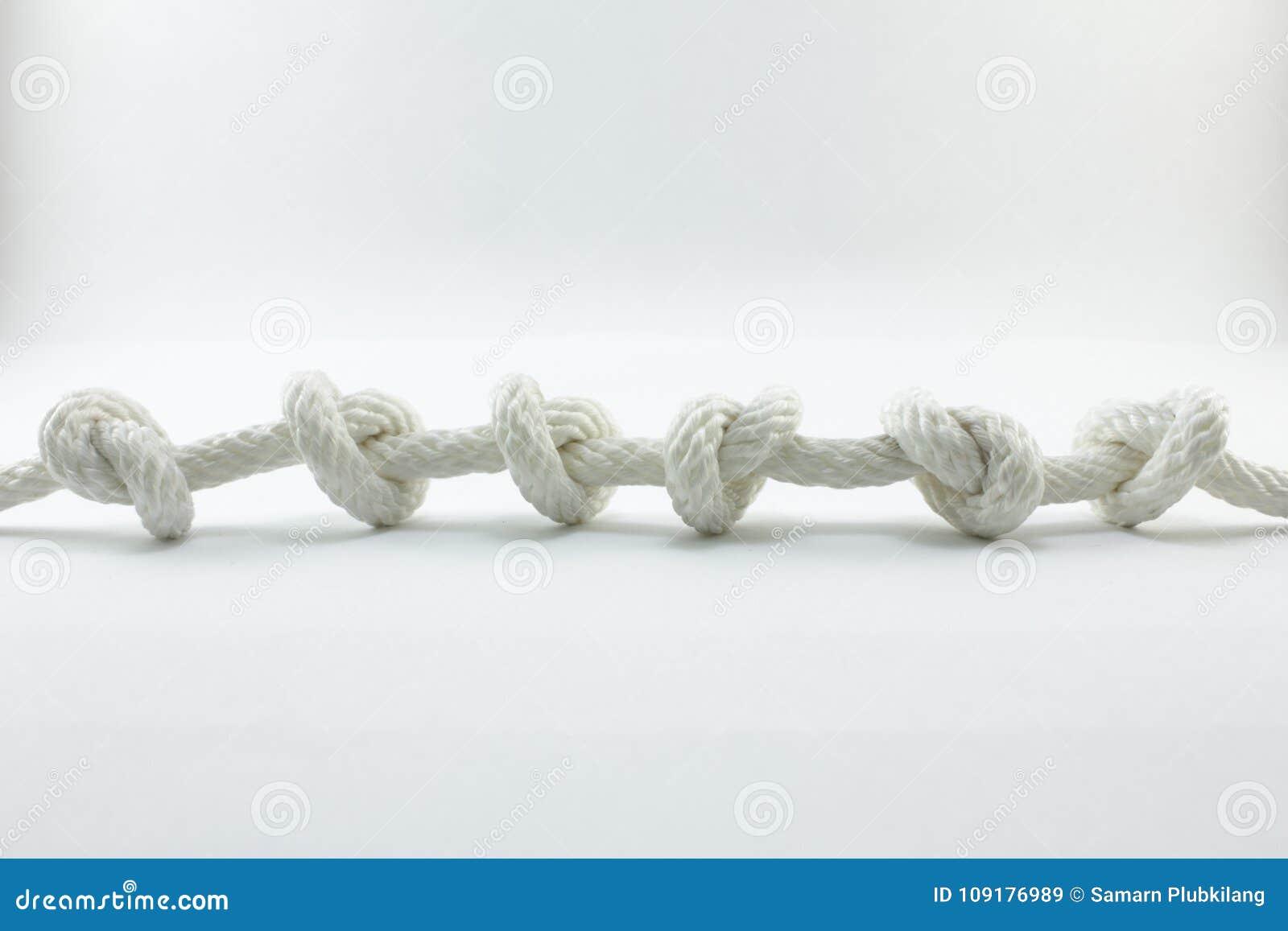 Cuerda y nudo