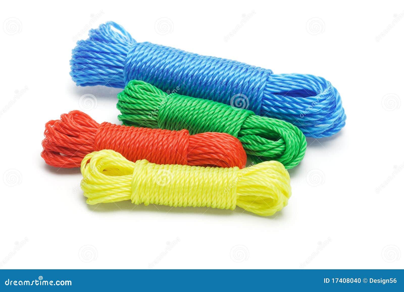 Cuerdas de nylon coloridas foto de archivo imagen 17408040 - Cuerda de nylon ...