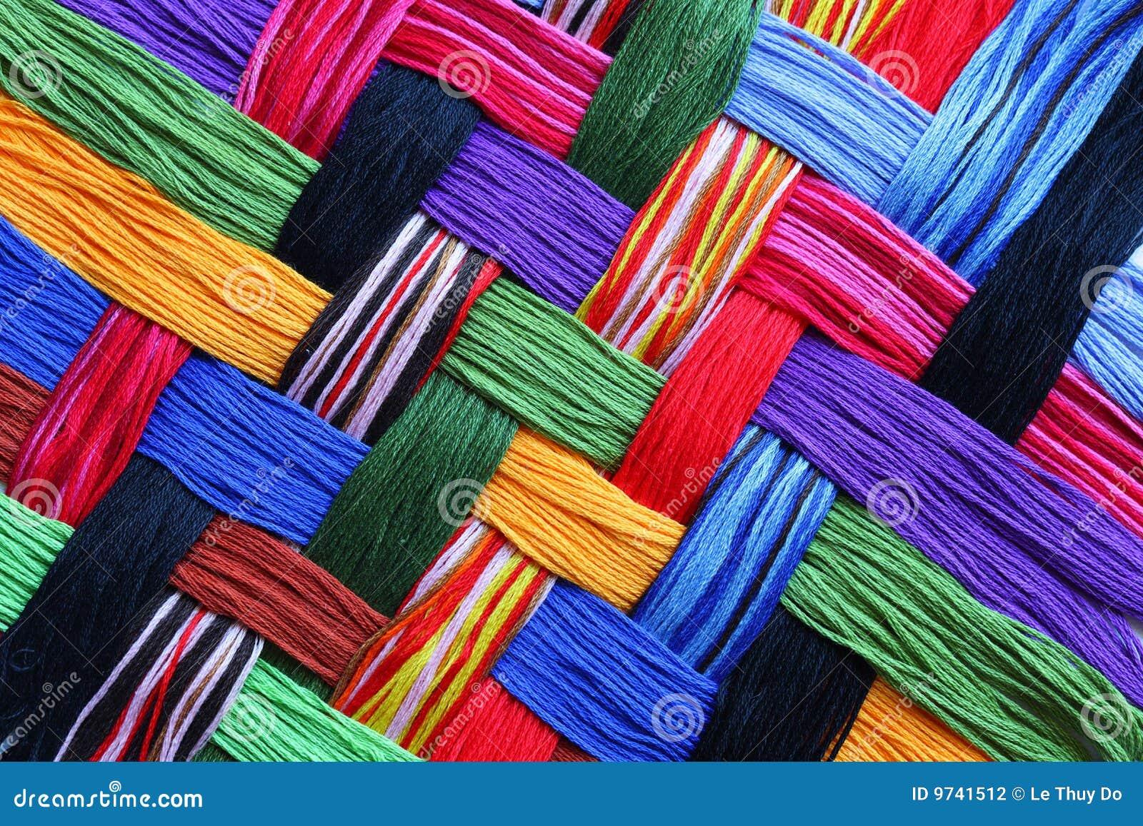 Cuerdas de rosca del bordado