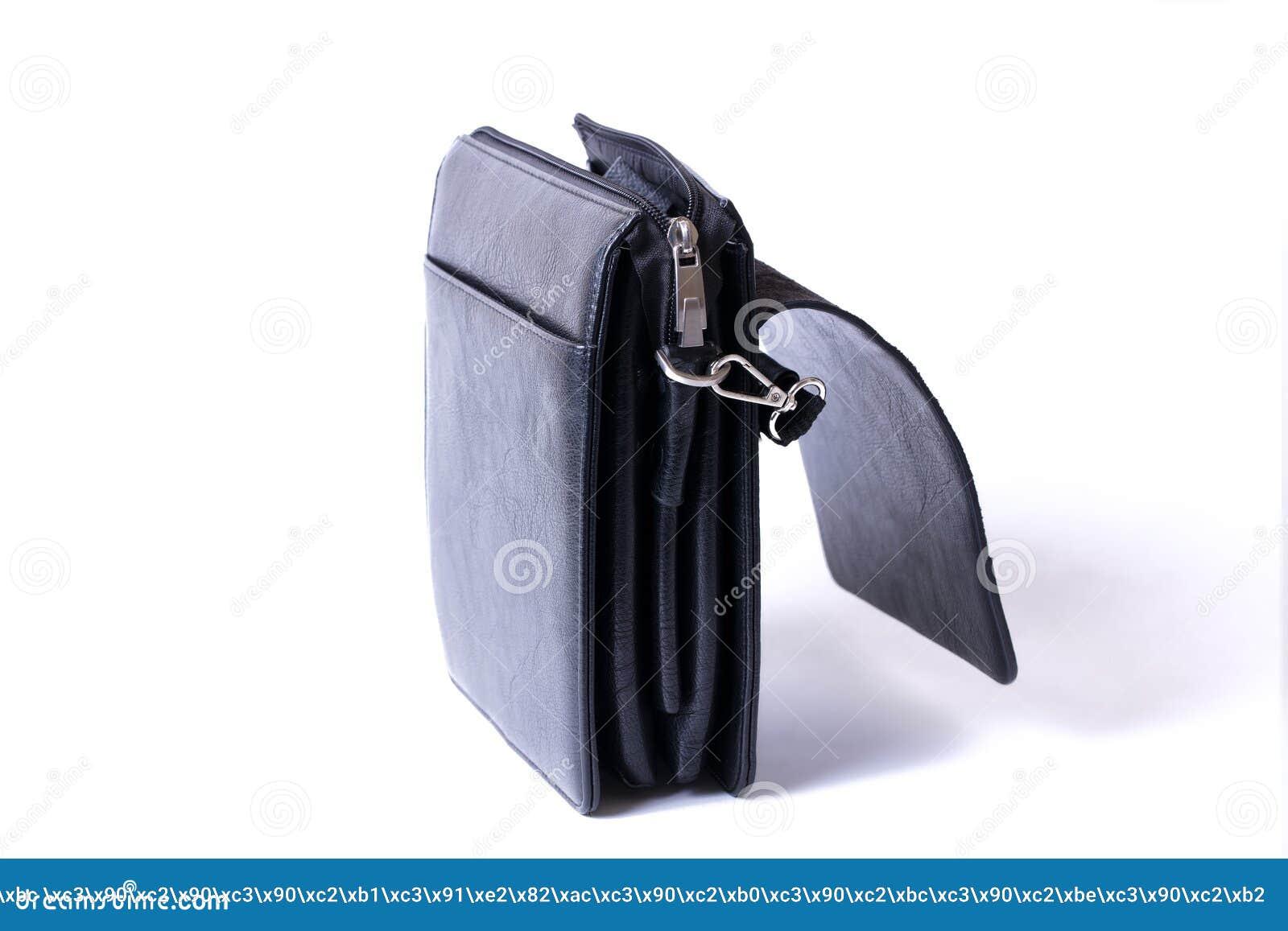 en venta 008a0 3a878 Cuero Del Monedero Del Hombre Para El Hombre Bolso Del Negro ...