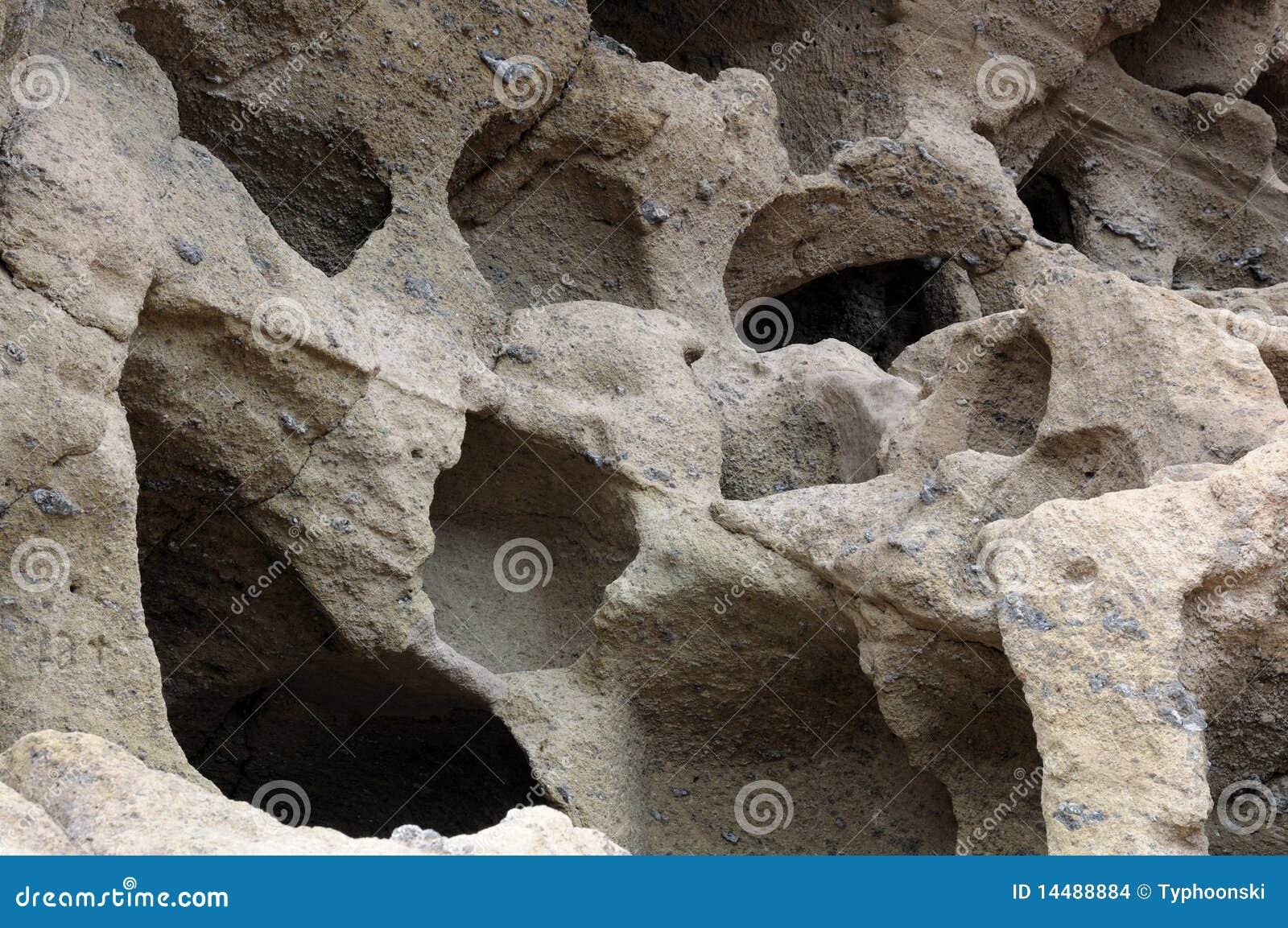 Cuevas en el canario magnífico, España