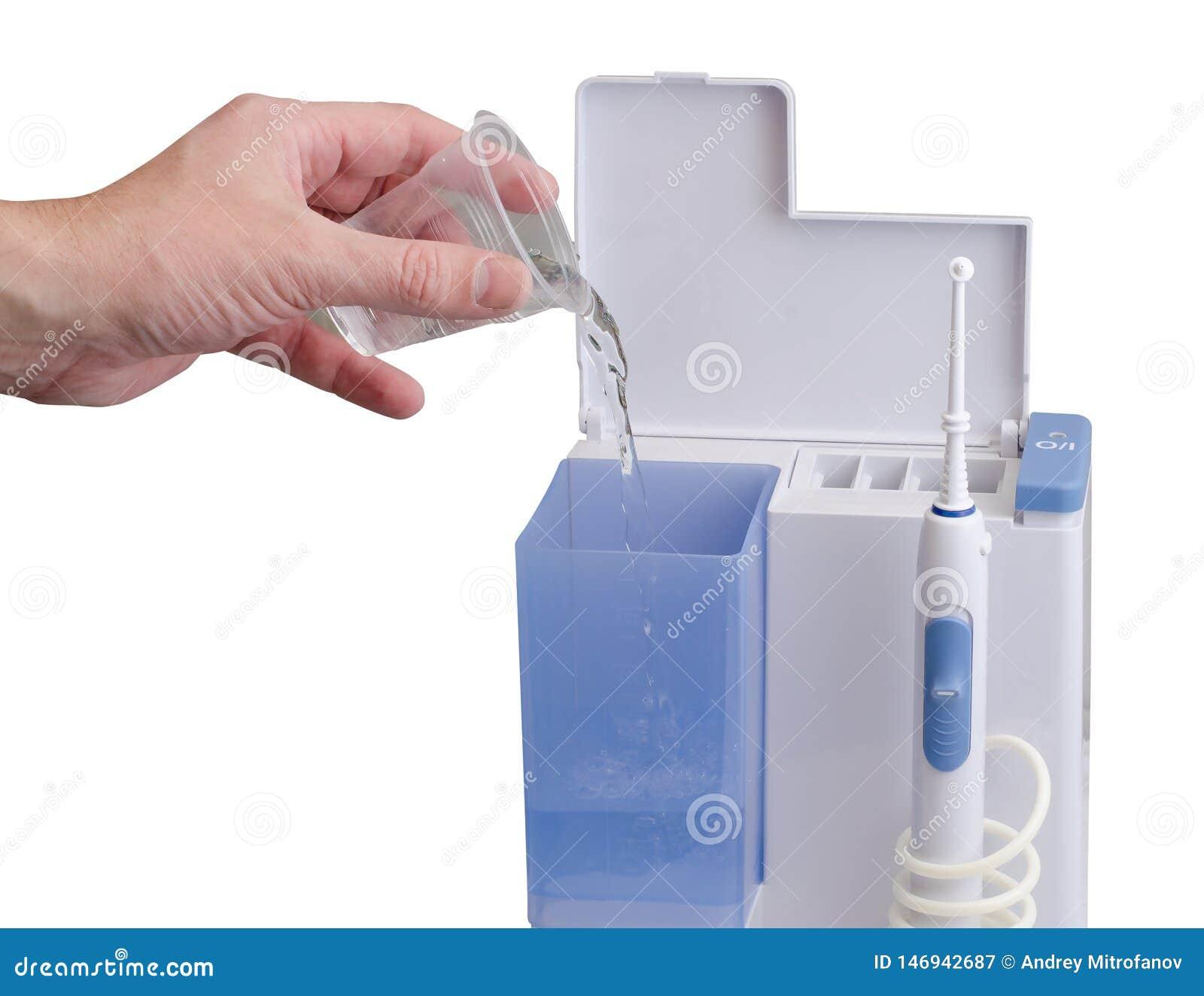 Cuidado del equipo dental Irrigator para la boca