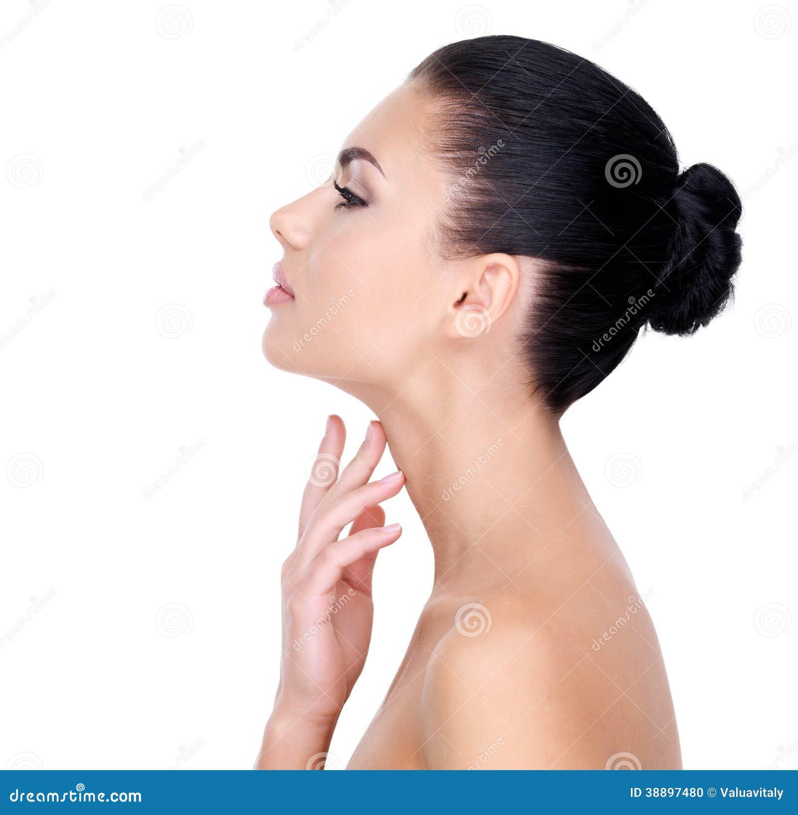Cum piel colmillos cuello hembra