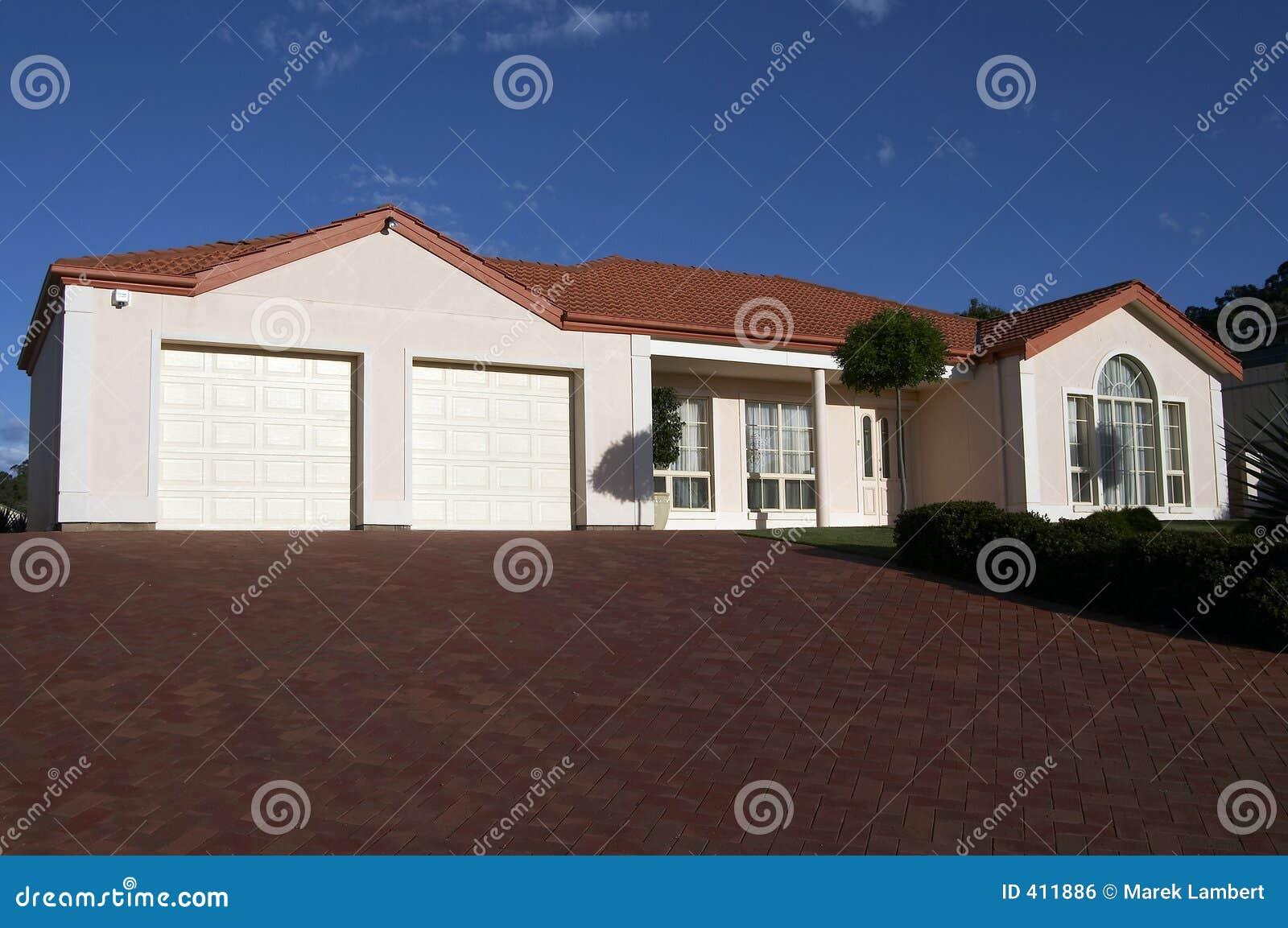 Cuidadosamente actual casa de una sola planta imagen de archivo libre de regal as imagen 411886 - Casas de una sola planta ...
