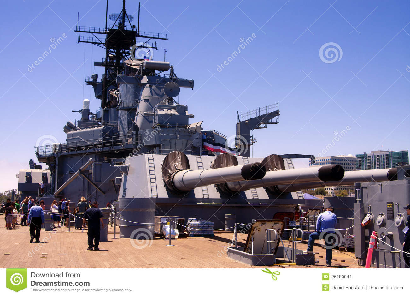 Cuirassé célèbre d USS Iowa Etats-Unis