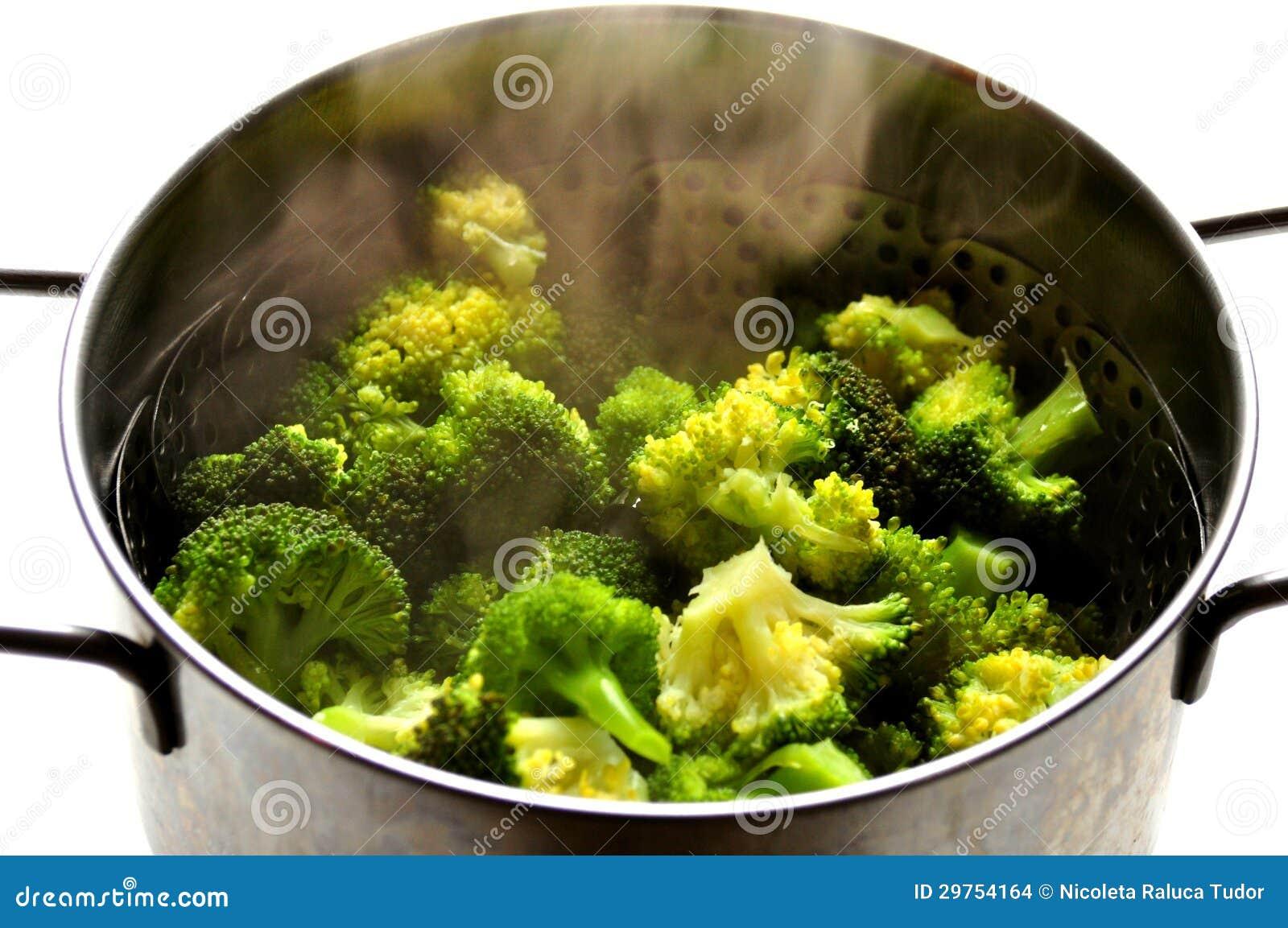 Nourriture v g talienne cuire le brocoli la vapeur for Cuire a la vapeur