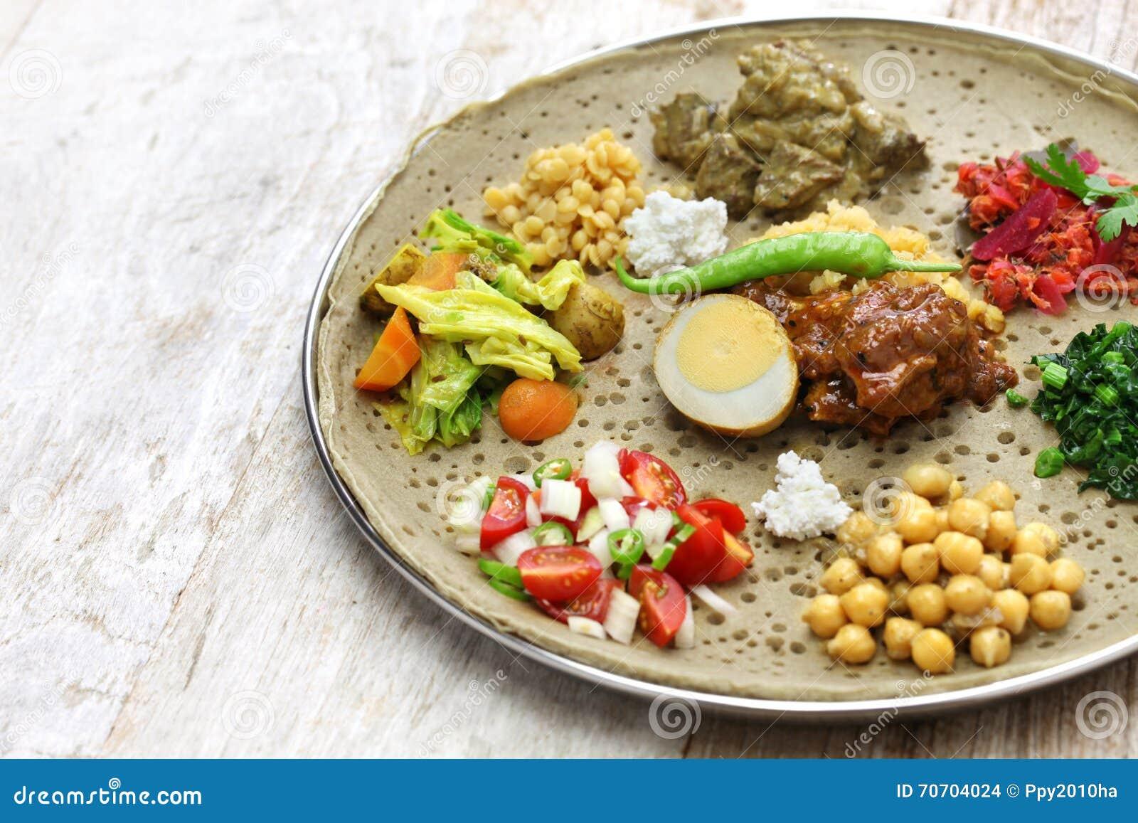 Cuisine éthiopienne Photo Stock Image Du Boeuf Chou - Cuisine ethiopienne