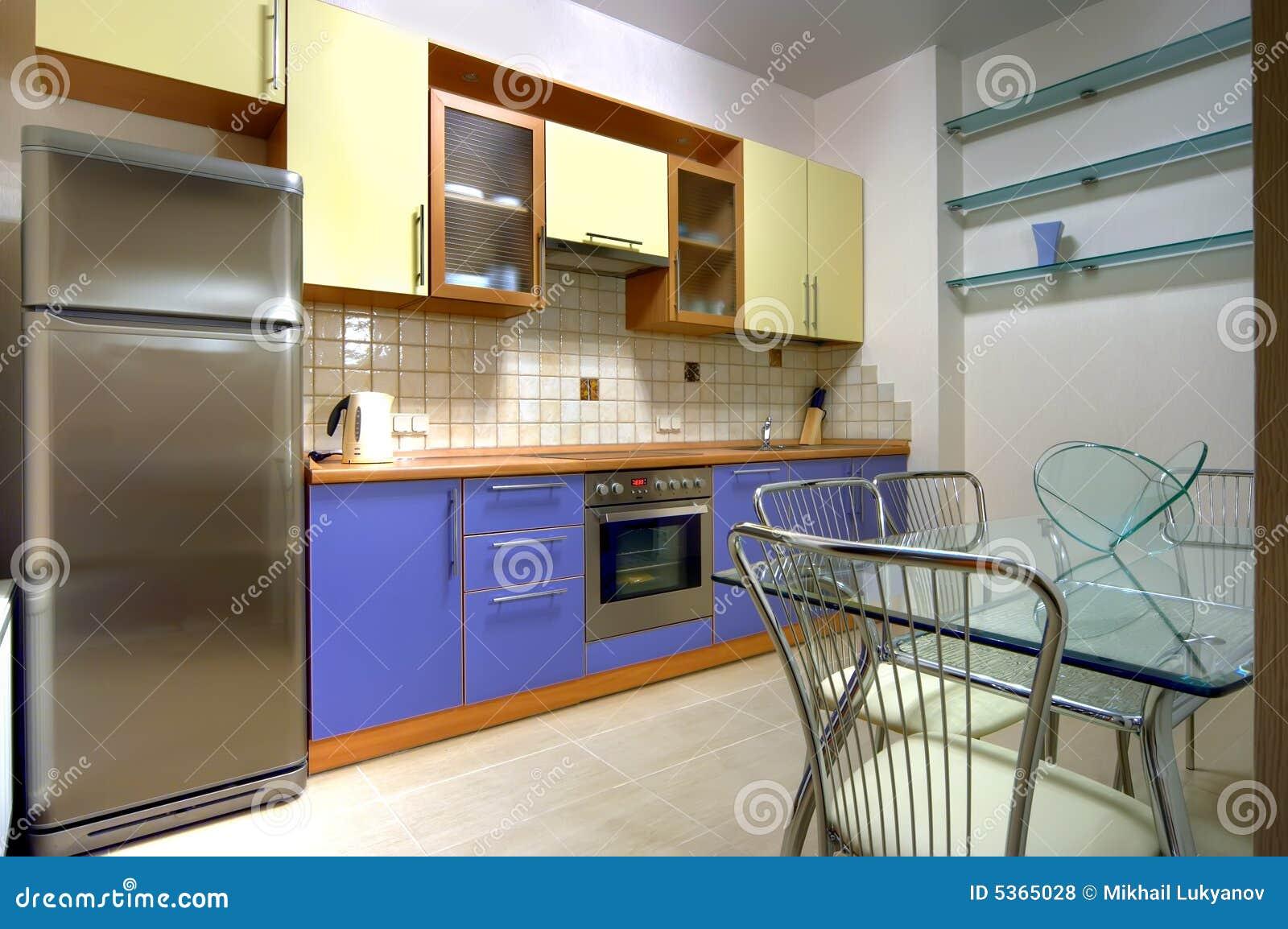 cuisine avec construite dans des appareils m nagers. Black Bedroom Furniture Sets. Home Design Ideas