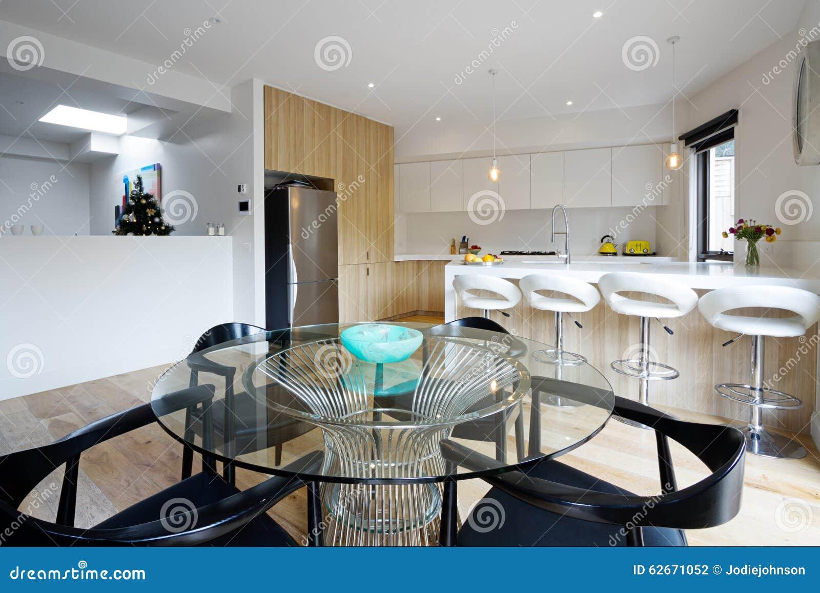 Cuisine moderne ouverte for Plan maison cuisine ouverte