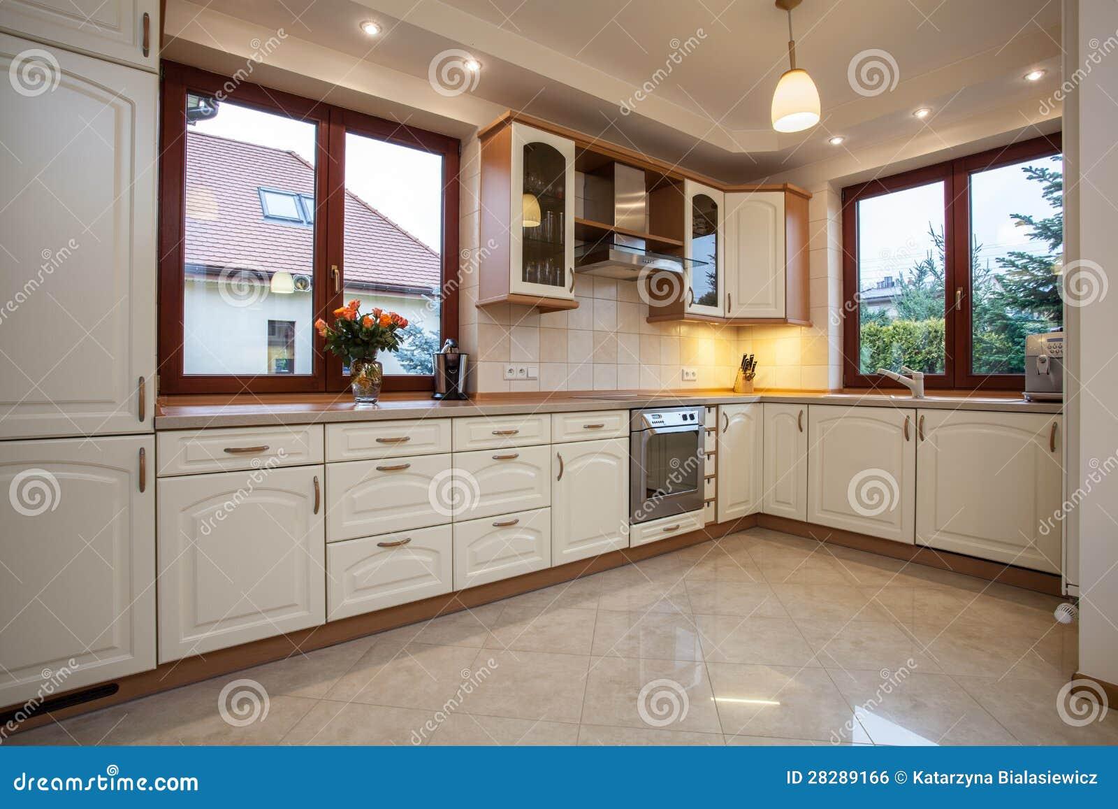 Cuisine beige image libre de droits image 28289166 - Coefficient bac pro cuisine ...