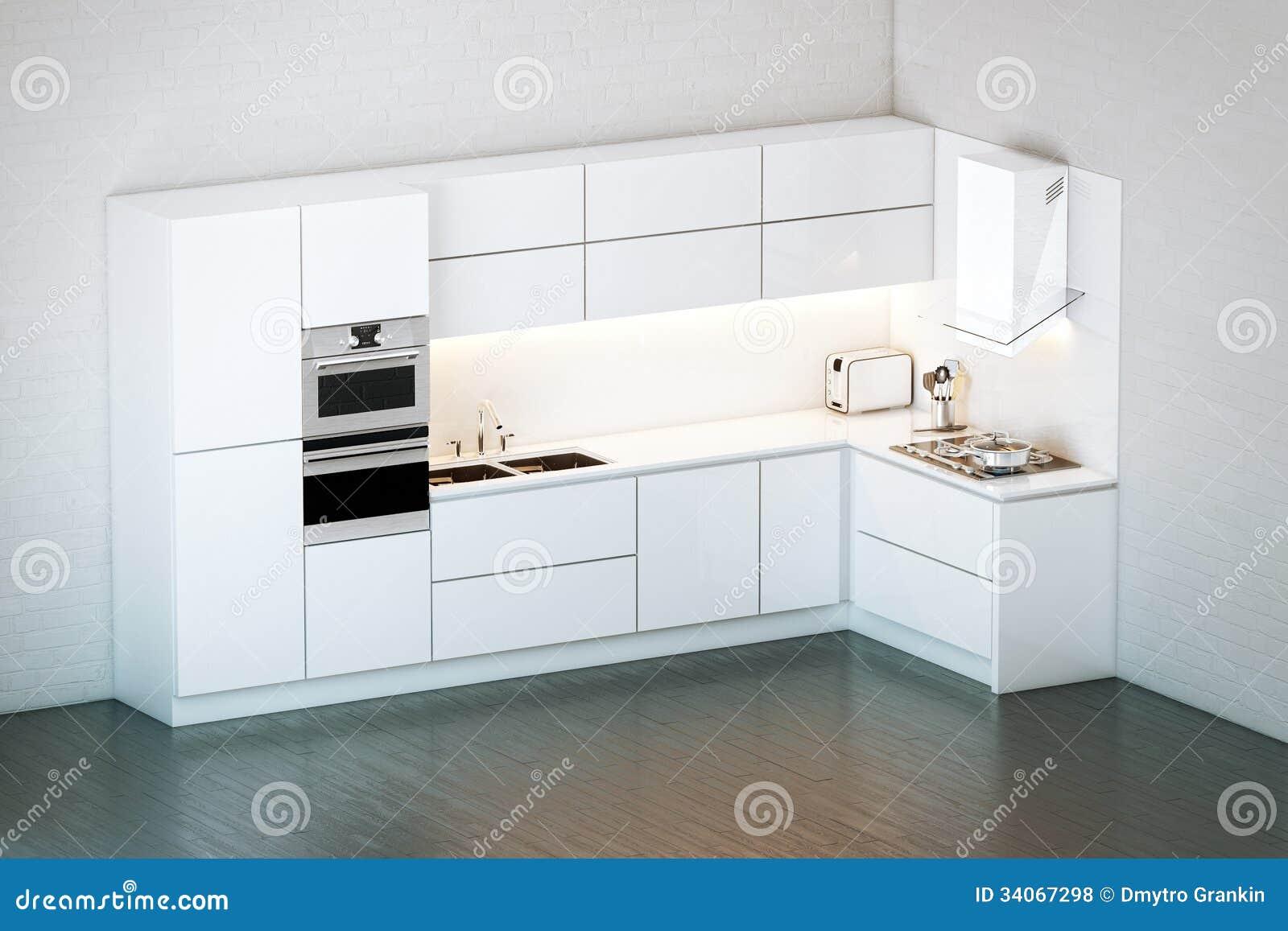 Cuisine blanche de luxe avec des id es for Cuisine de luxe
