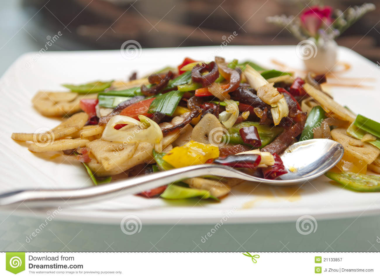 Cuisine chinoise image stock image du froid rouge for Cuisine chinoise