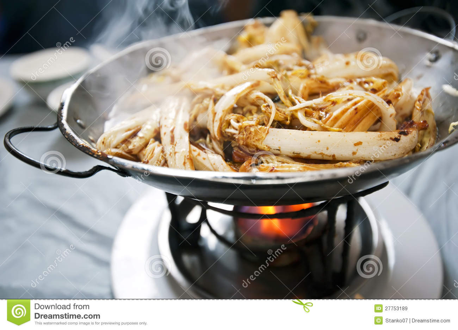 Cuisine chinoise - chou frit